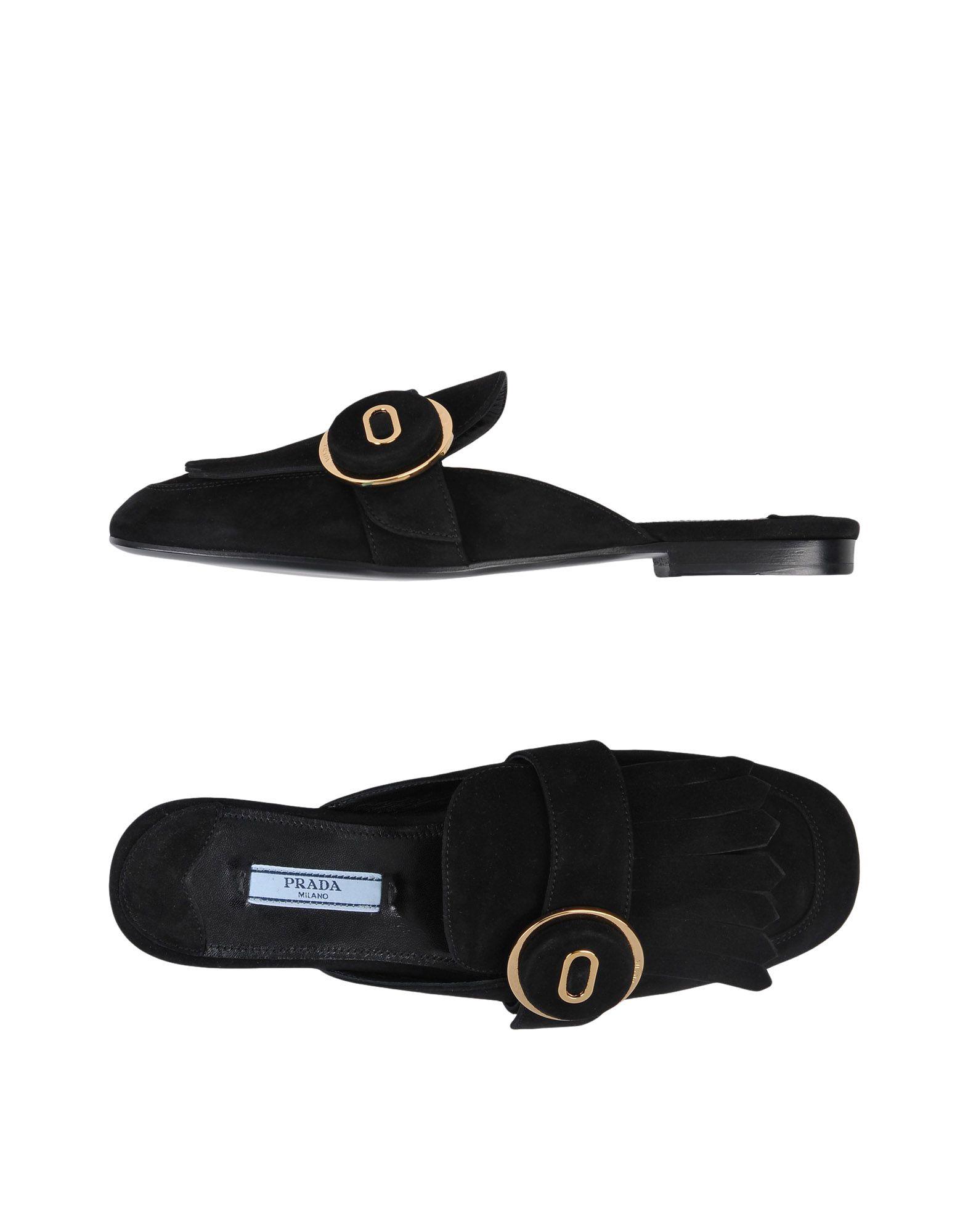 Prada Pantoletten Damen  11484302XJGünstige gut aussehende Schuhe