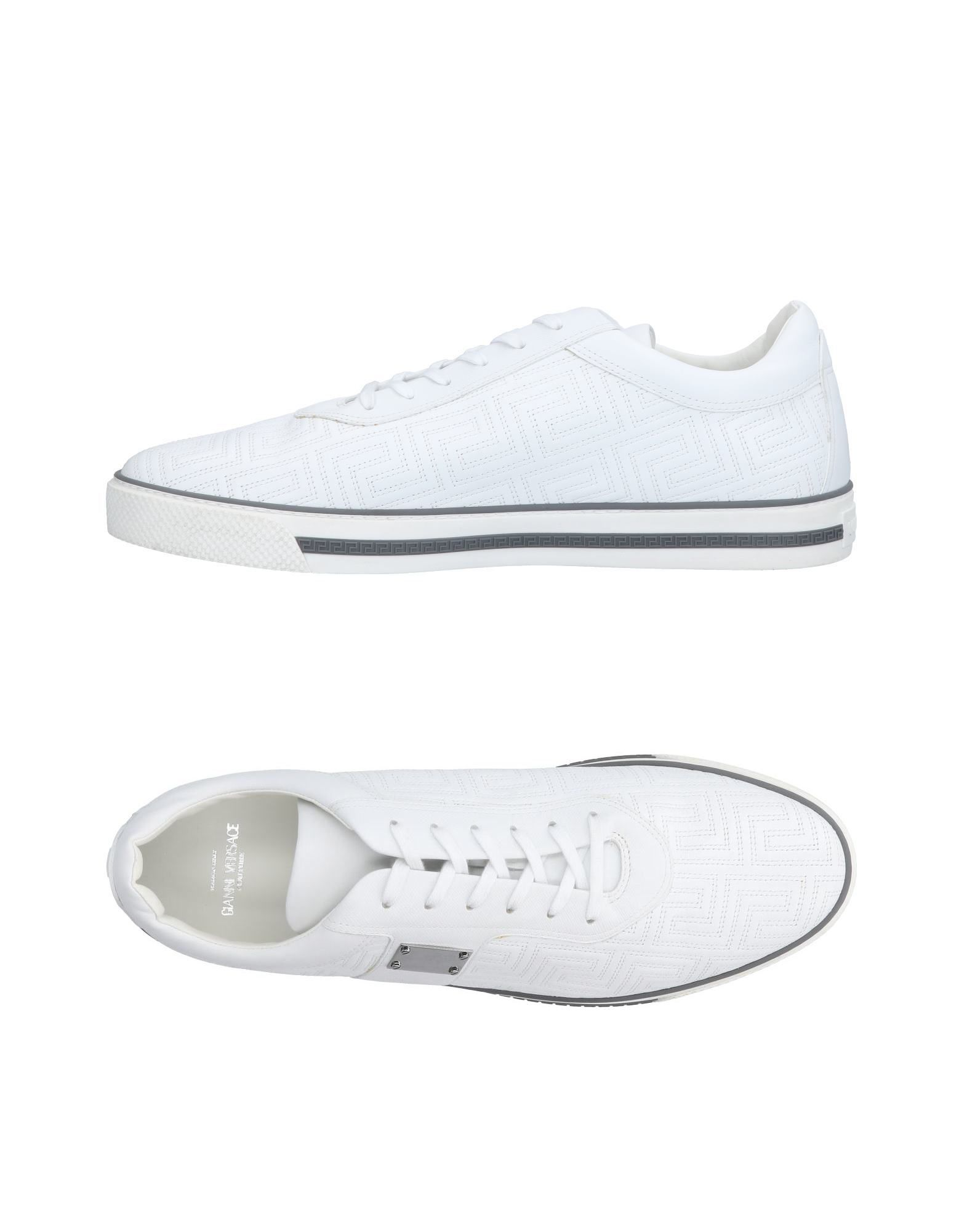 Sneakers Gianni Versace Couture Homme - Sneakers Gianni Versace Couture  Blanc Meilleur modèle de vente