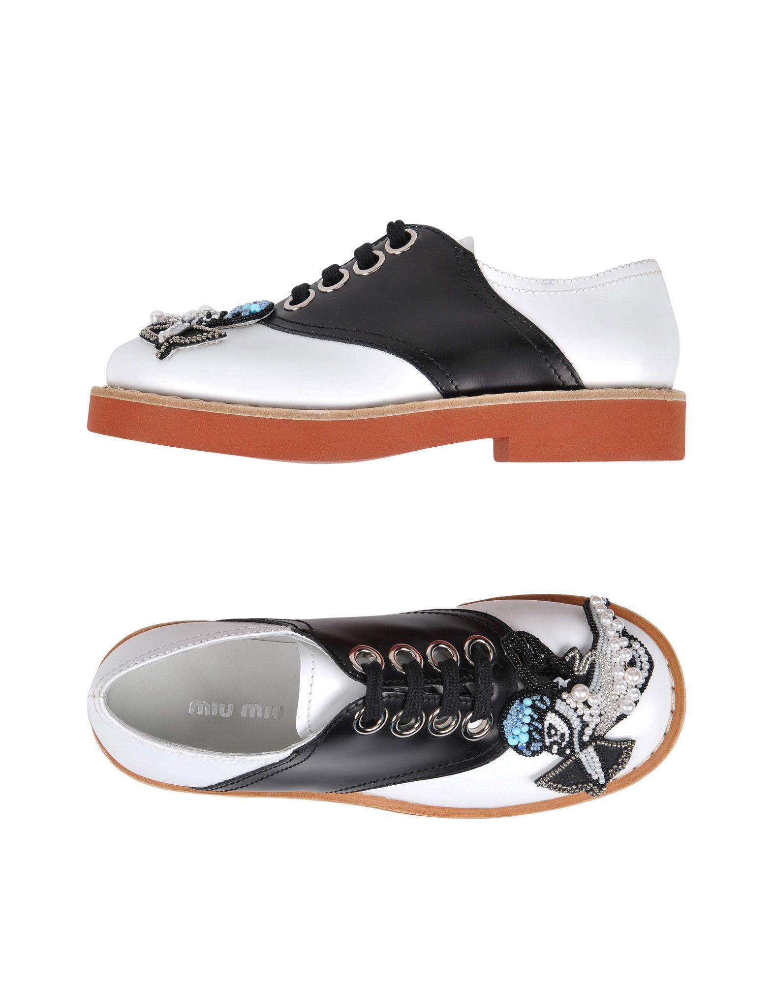 Miu Miu Schnürschuhe Damen  11484407SMGünstige gut aussehende Schuhe
