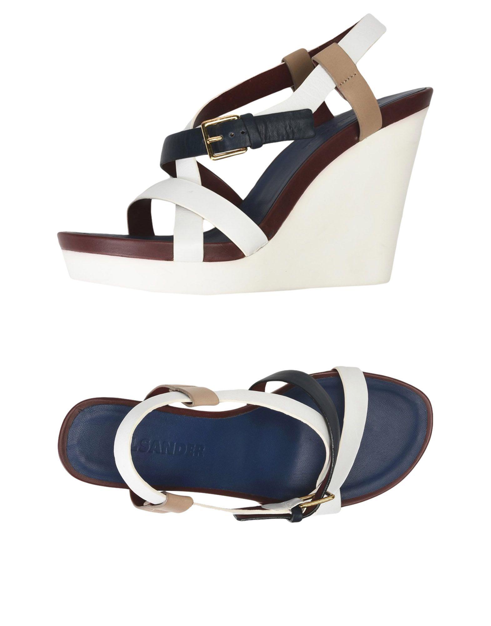 Jil Sander Sandalen Damen  11484501IAGünstige gut aussehende Schuhe