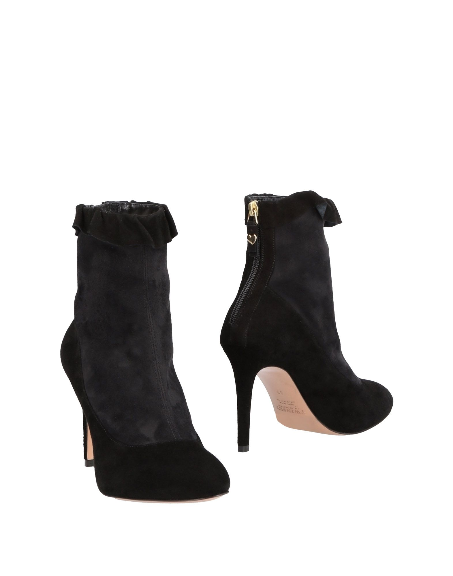 Twin-Set - Simona Barbieri Ankle Boot - Twin-Set Women Twin-Set Simona Barbieri Ankle Boots online on  Canada - 11484785FL 3b9a9c