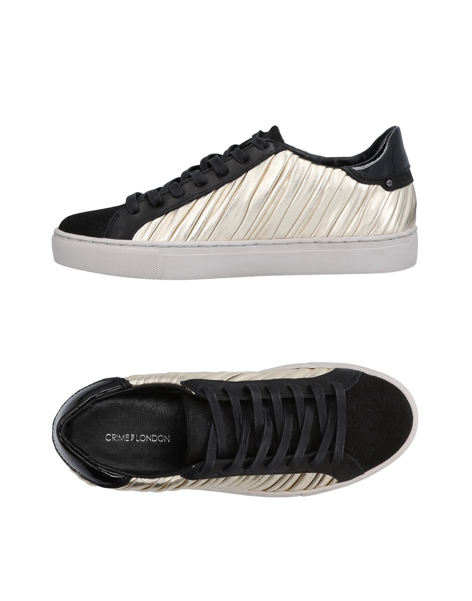Baskets Crime London Femme - Baskets Crime London Noir Les chaussures les plus populaires pour les hommes et les femmes