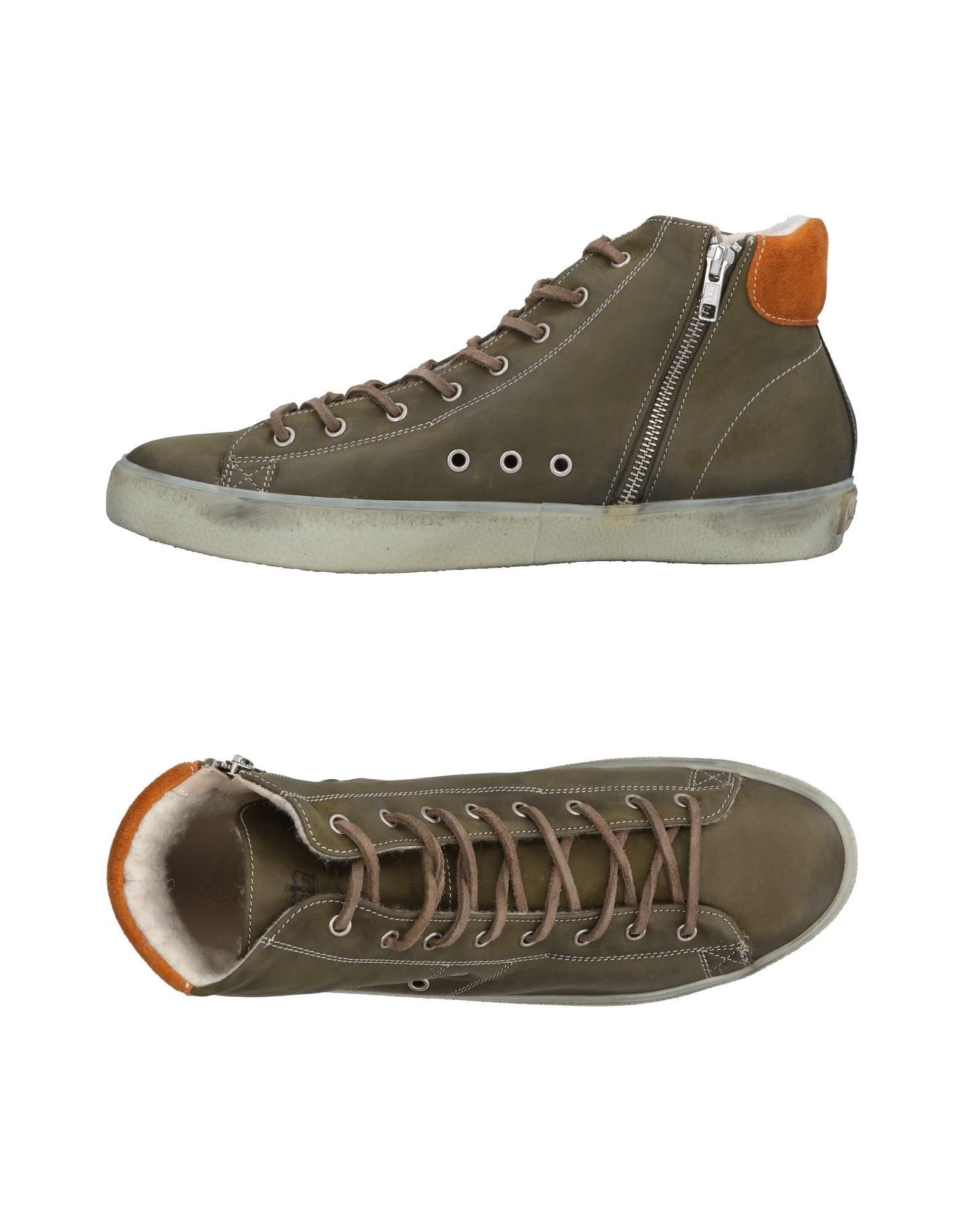 Sneakers Leather Crown Uomo - 11484915QG