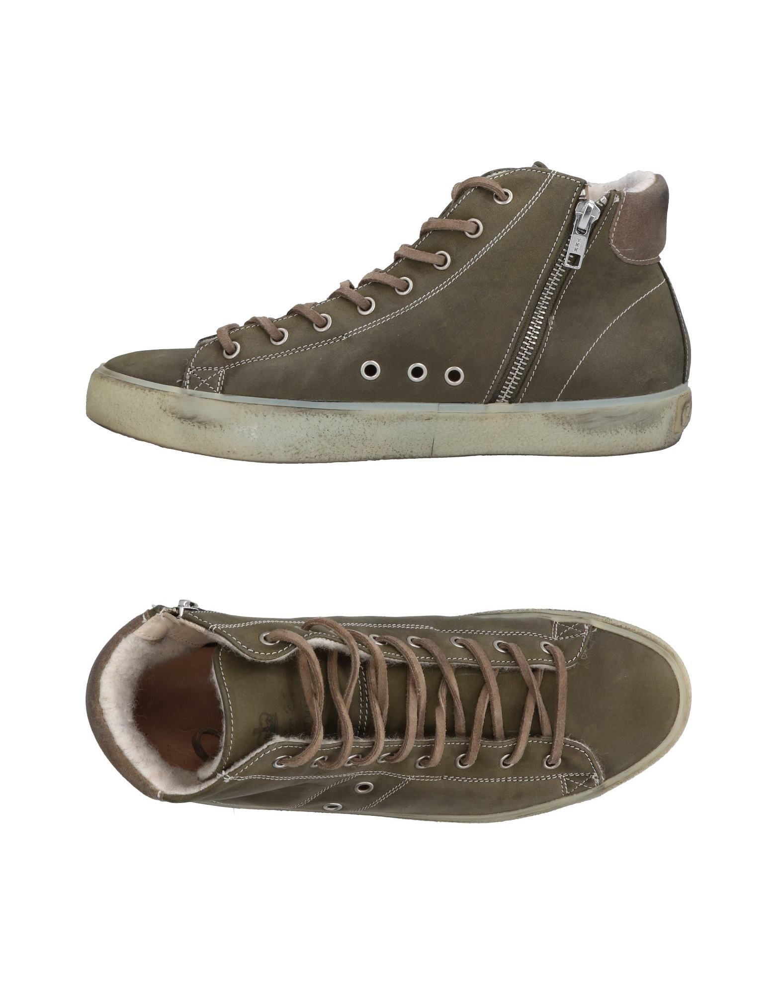 Sneakers Leather Crown Uomo - 11484920FT