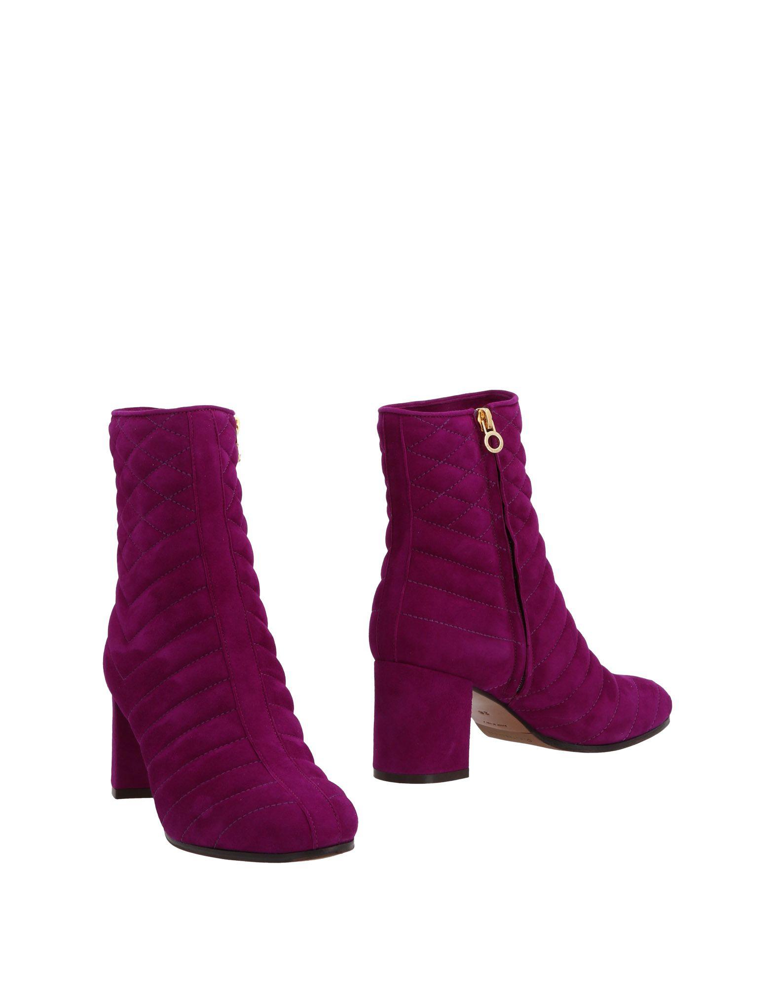 Bottine L' Autre Chose Femme - Bottines L' Autre Chose Violet Remise de marque