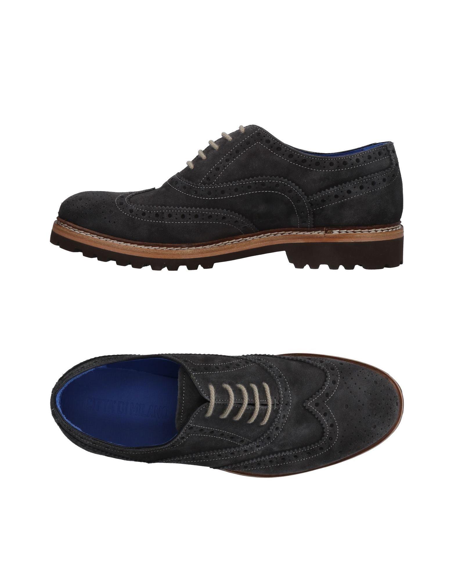 Rabatt echte Schuhe Citta' Di Milano Schnürschuhe Herren  11484996FB