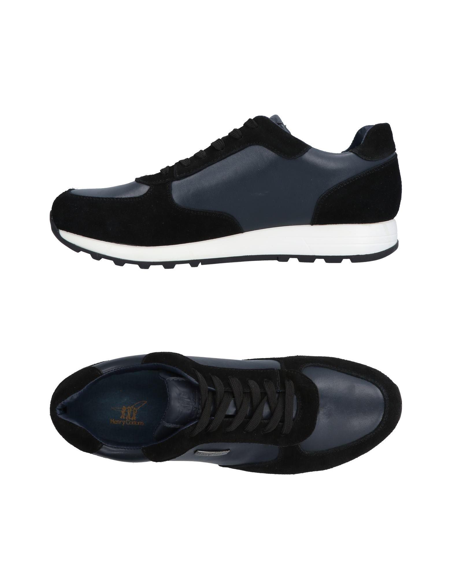 Rabatt echte Schuhe Henry Cotton's Sneakers Herren  11485000MA