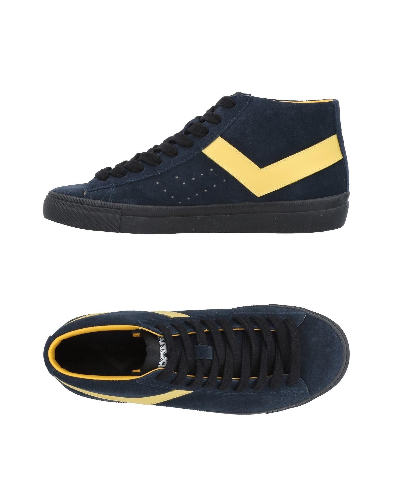 Baskets Pony Femme - Baskets Pony Bleu foncé Nouvelles chaussures pour hommes et femmes, remise limitée dans le temps