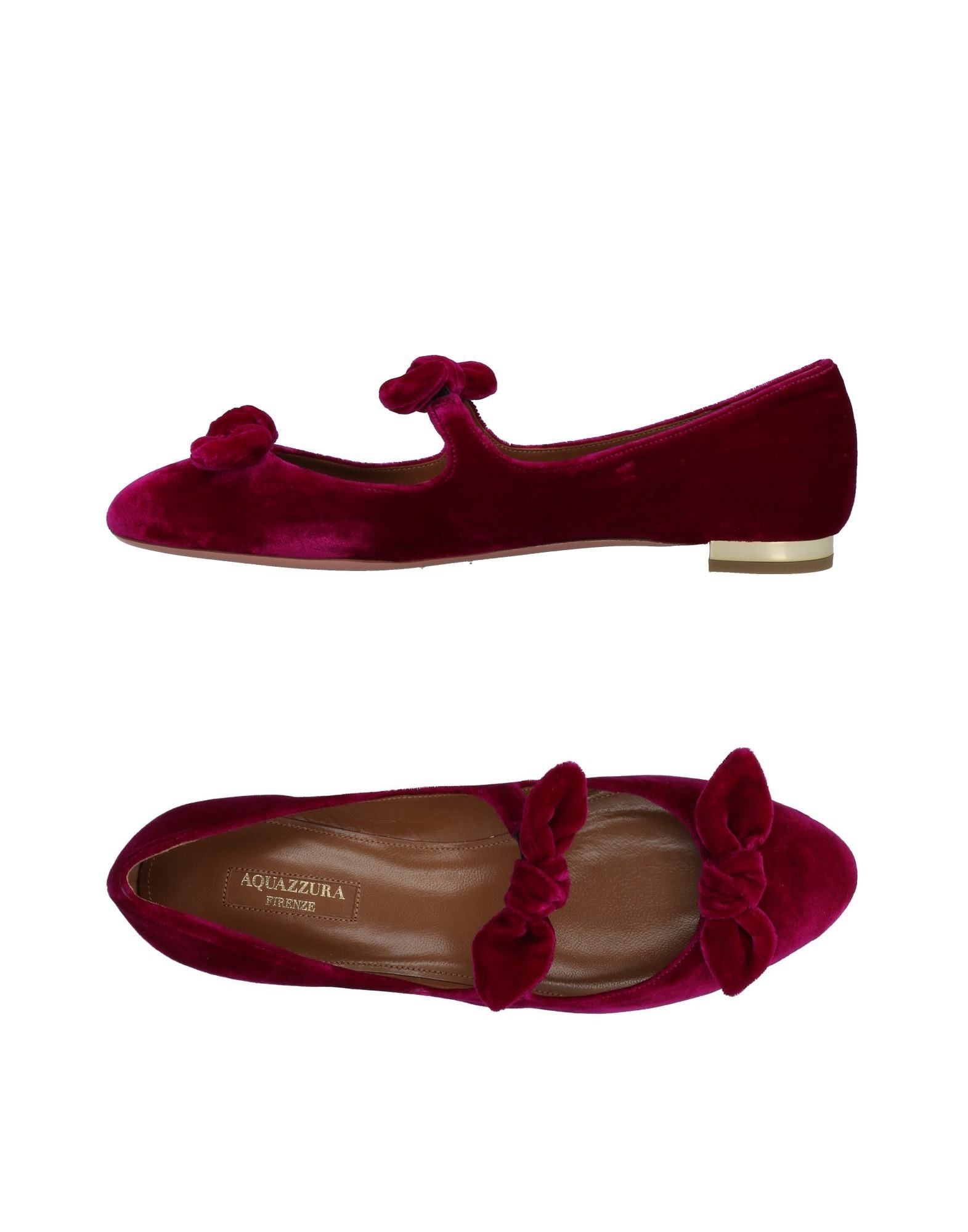 Rabatt Schuhe Aquazzura Ballerinas Damen  11485223RL