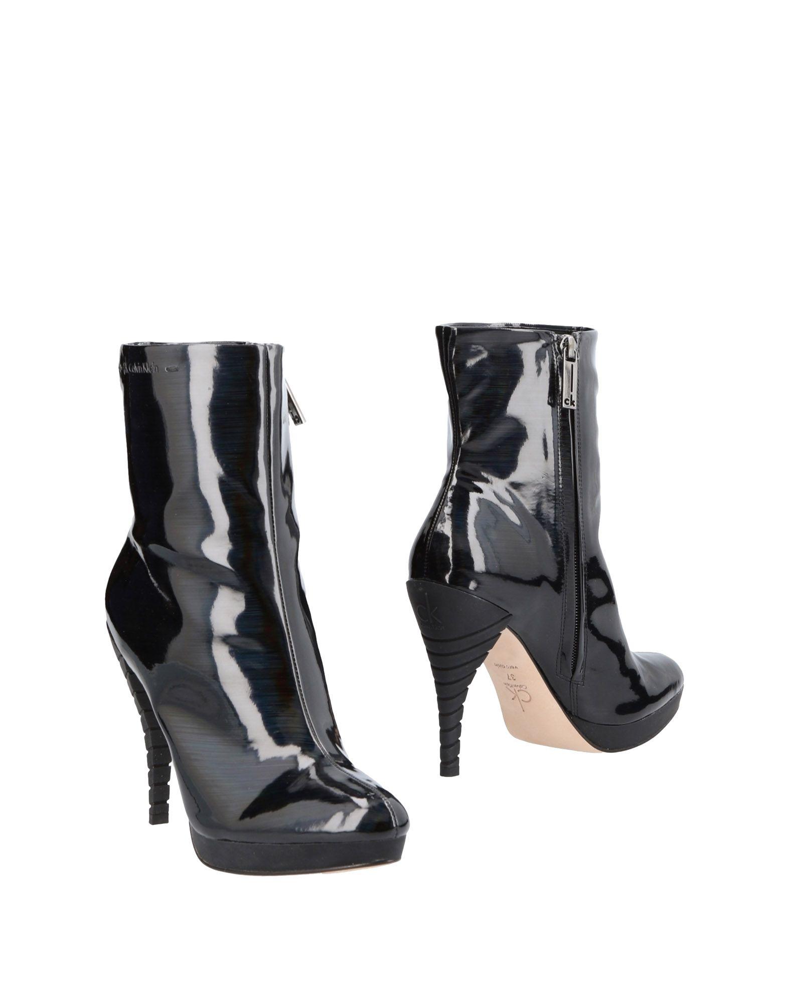 Gut um billige Klein Schuhe zu tragenCk Calvin Klein billige Stiefelette Damen  11485250KV 9c3b5a