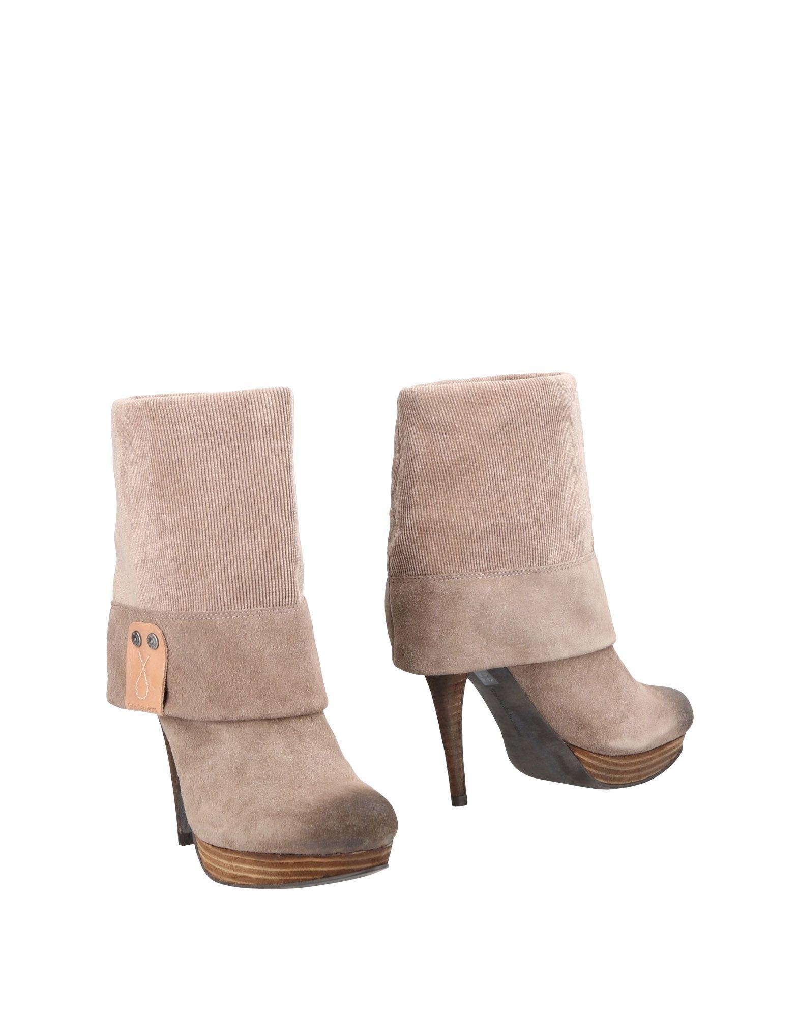 Calvin Klein Jeans Neue Stiefelette Damen  11485254ED Neue Jeans Schuhe dfb082