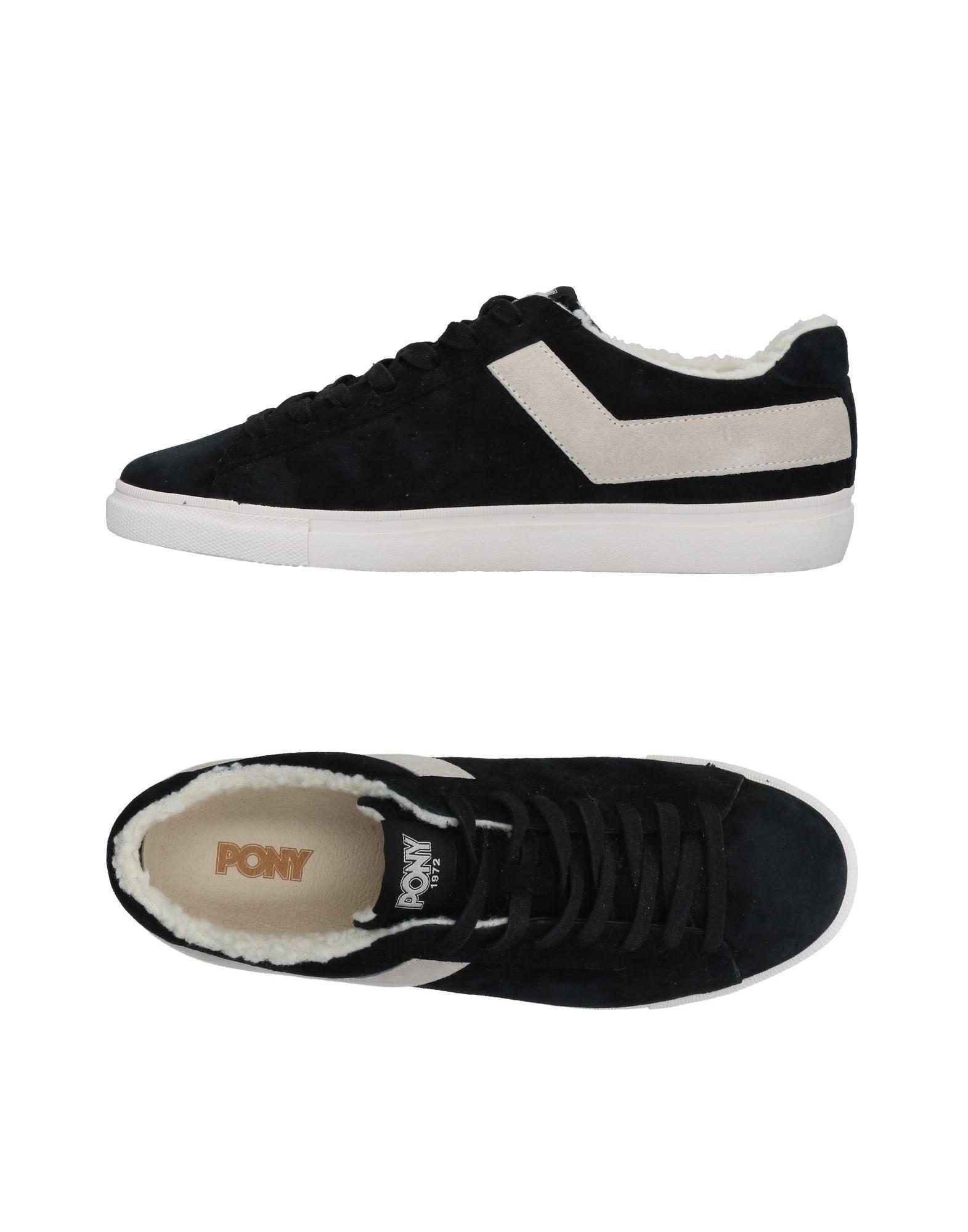 Rabatt echte Schuhe Pony Sneakers Herren  11485295LS