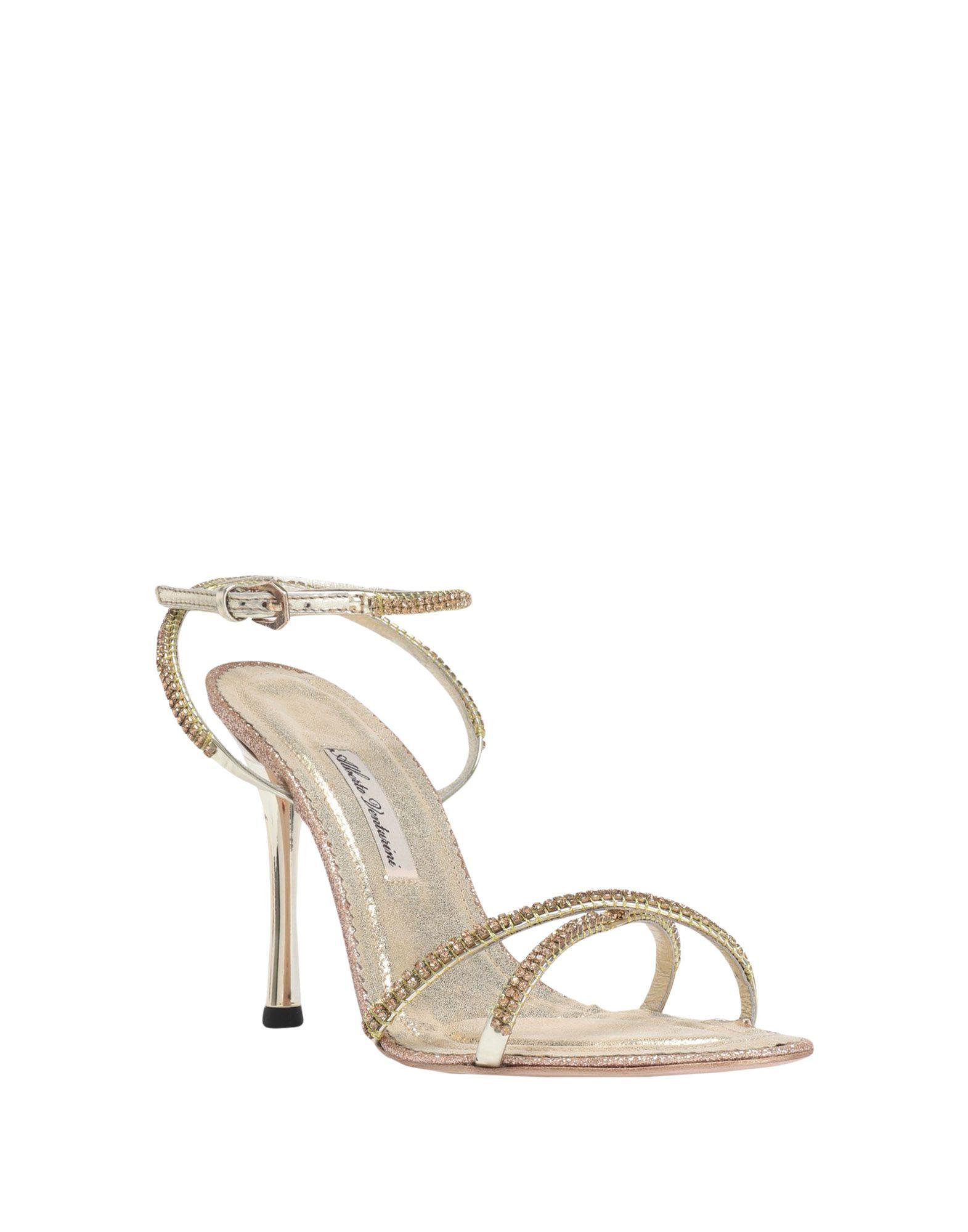 Gut Venturini um billige Schuhe zu tragenAlberto Venturini Gut Sandalen Damen  11485326OP 555012
