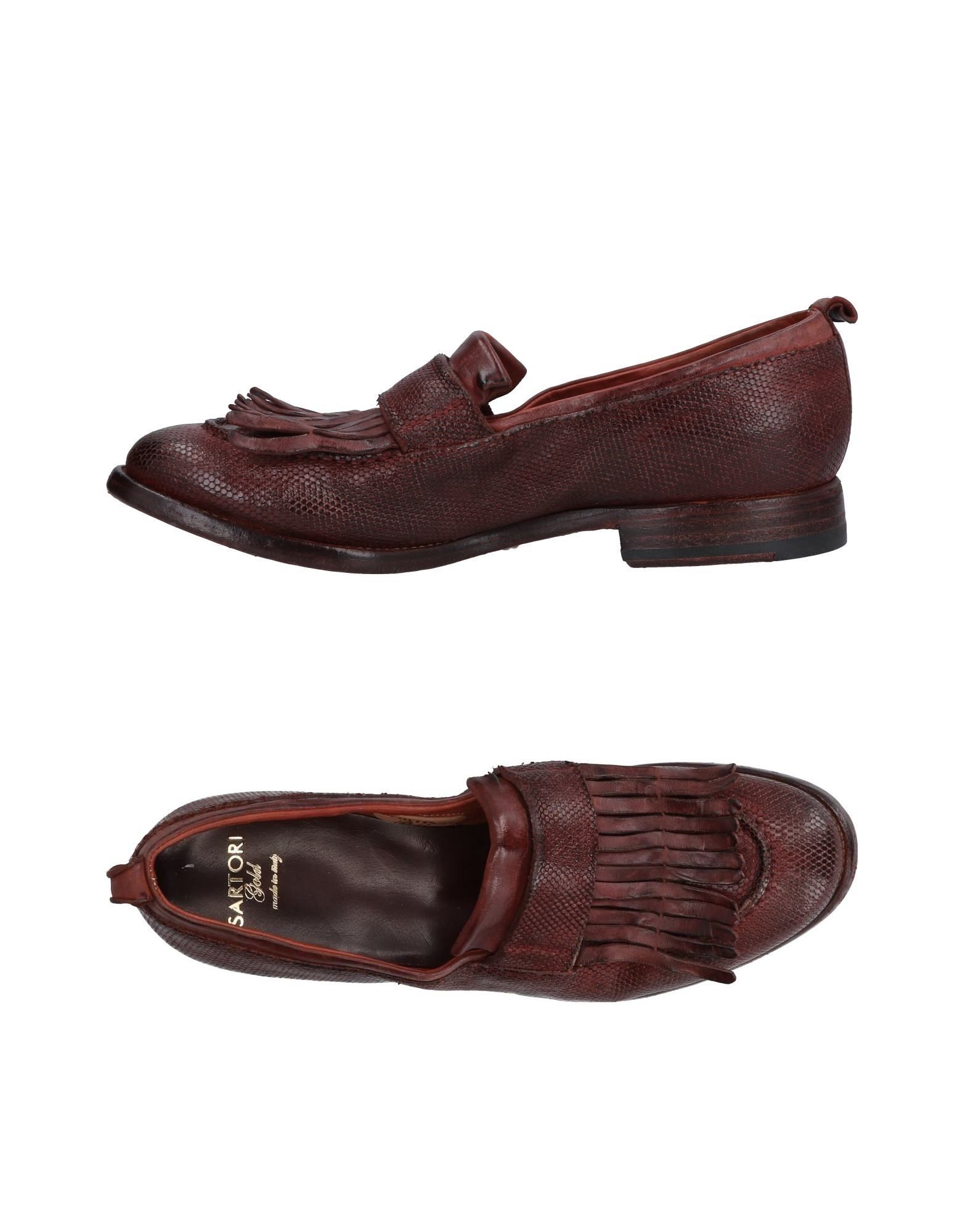 Sartori Gold Loafers - Women Sartori Gold Loafers - online on  Australia - Loafers 11485373WR 341567