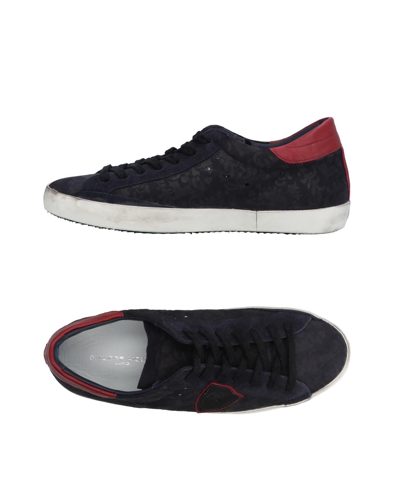 Rabatt echte Schuhe Philippe Model Sneakers Herren  11485455DJ