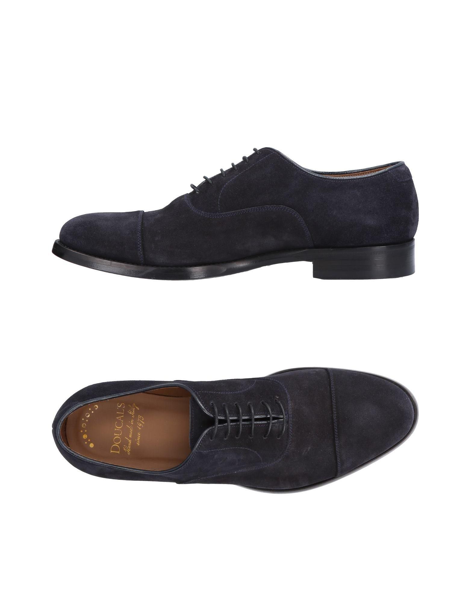 Rabatt echte Schuhe Doucal's Schnürschuhe Herren  11485466QJ