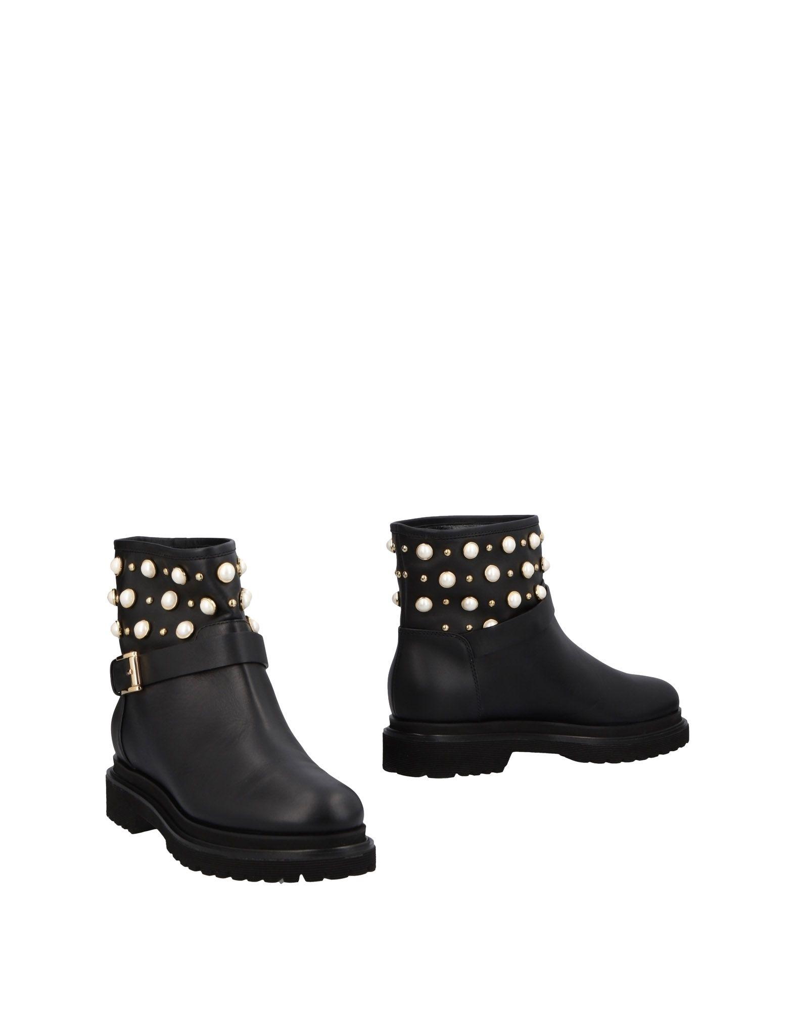 Ninalilou Stiefelette Damen  11485702SVGut aussehende strapazierfähige Schuhe