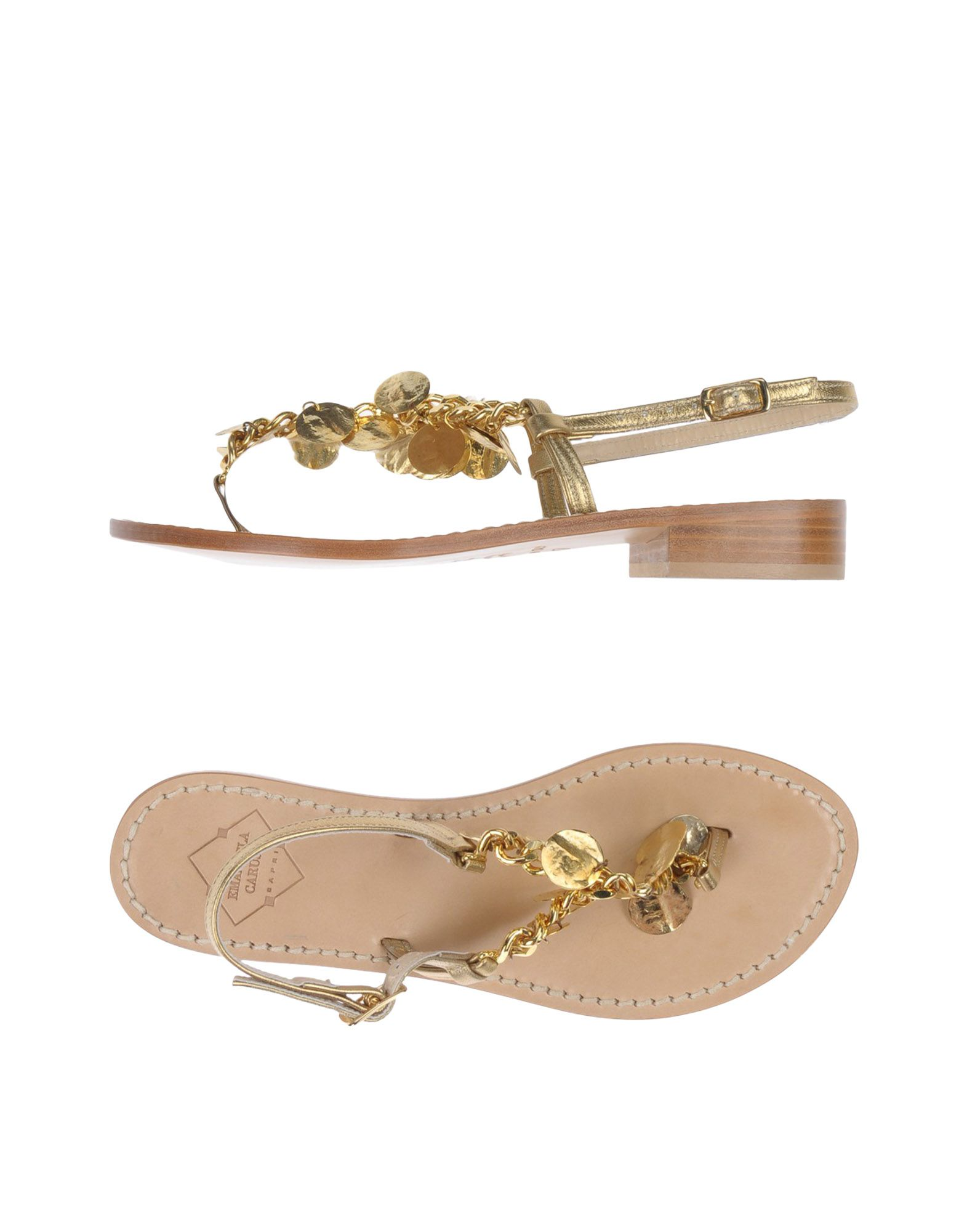 Stilvolle billige Schuhe Schuhe Schuhe Emanuela Caruso Capri Dianetten Damen  11485732JV a7c566