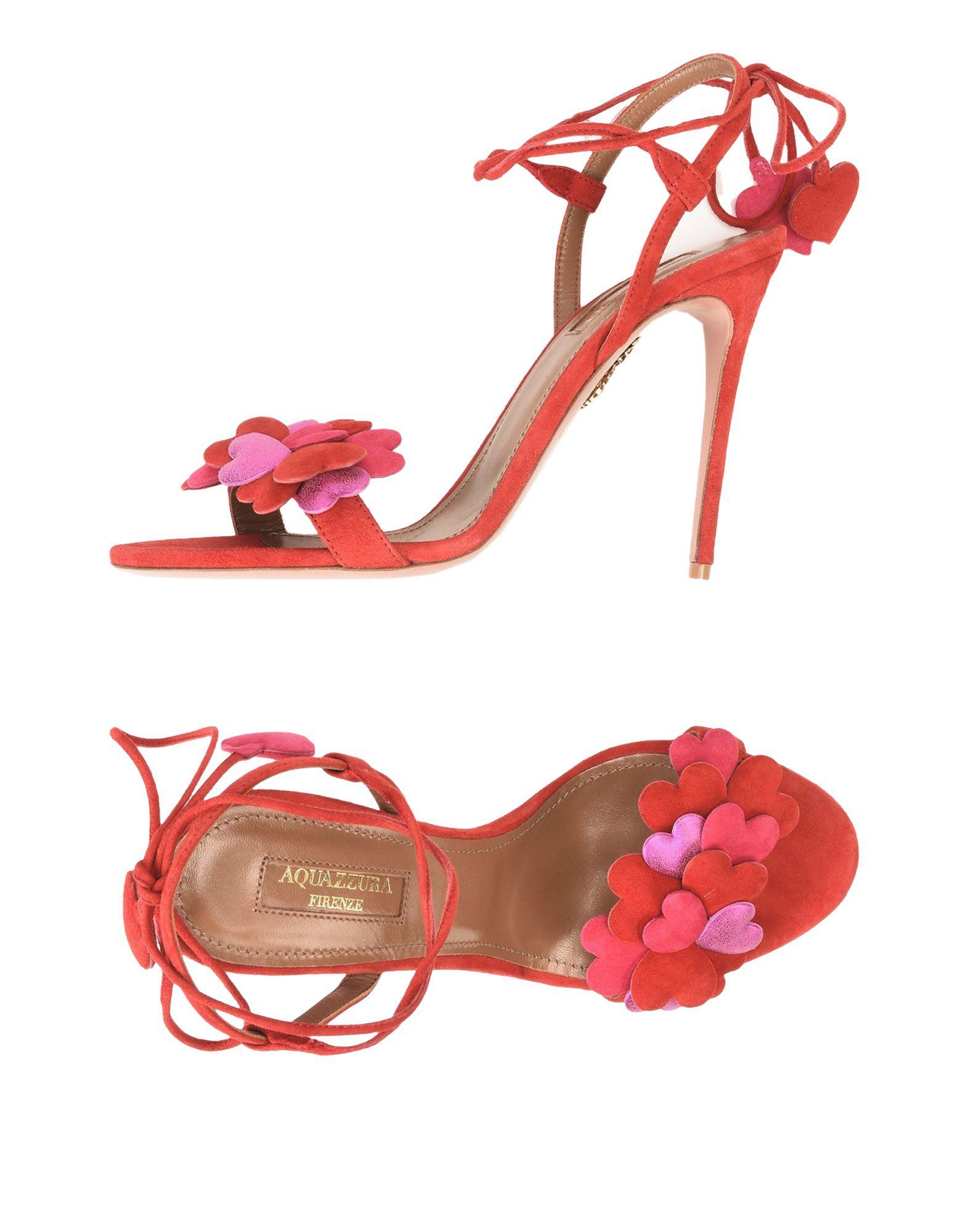 Rabatt Schuhe Aquazzura Sandalen Damen  11485893MN
