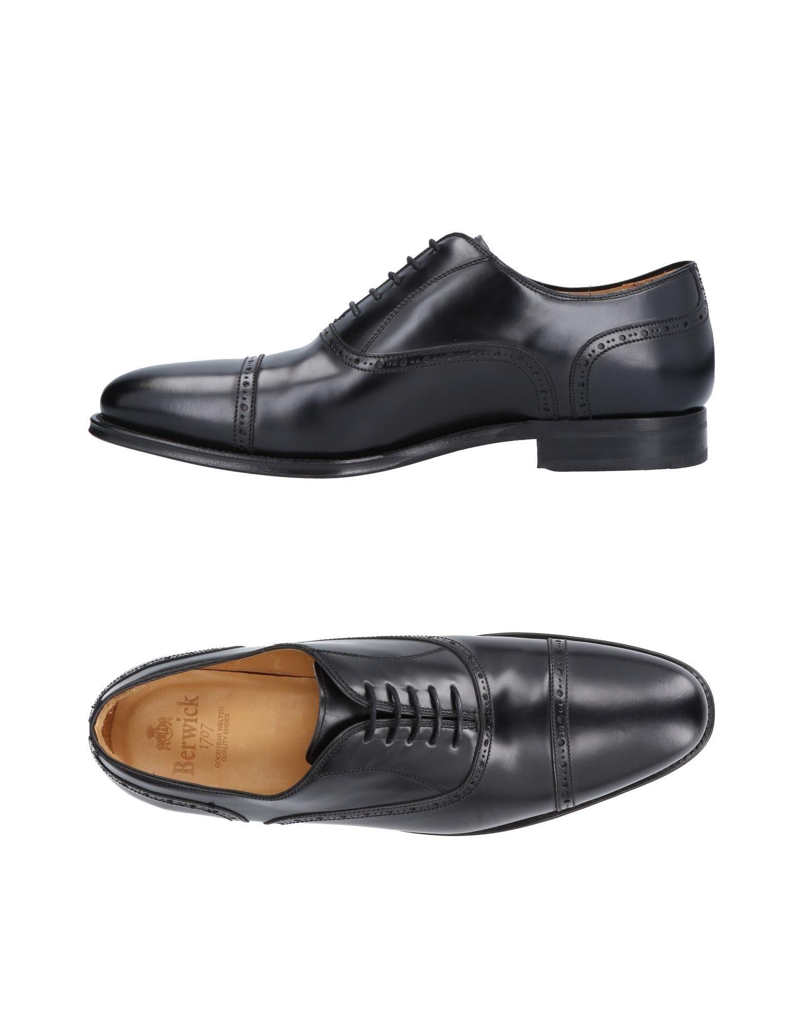 Rabatt echte Schuhe Herren Berwick  1707 Schnürschuhe Herren Schuhe  11486029HC 1d4a6e
