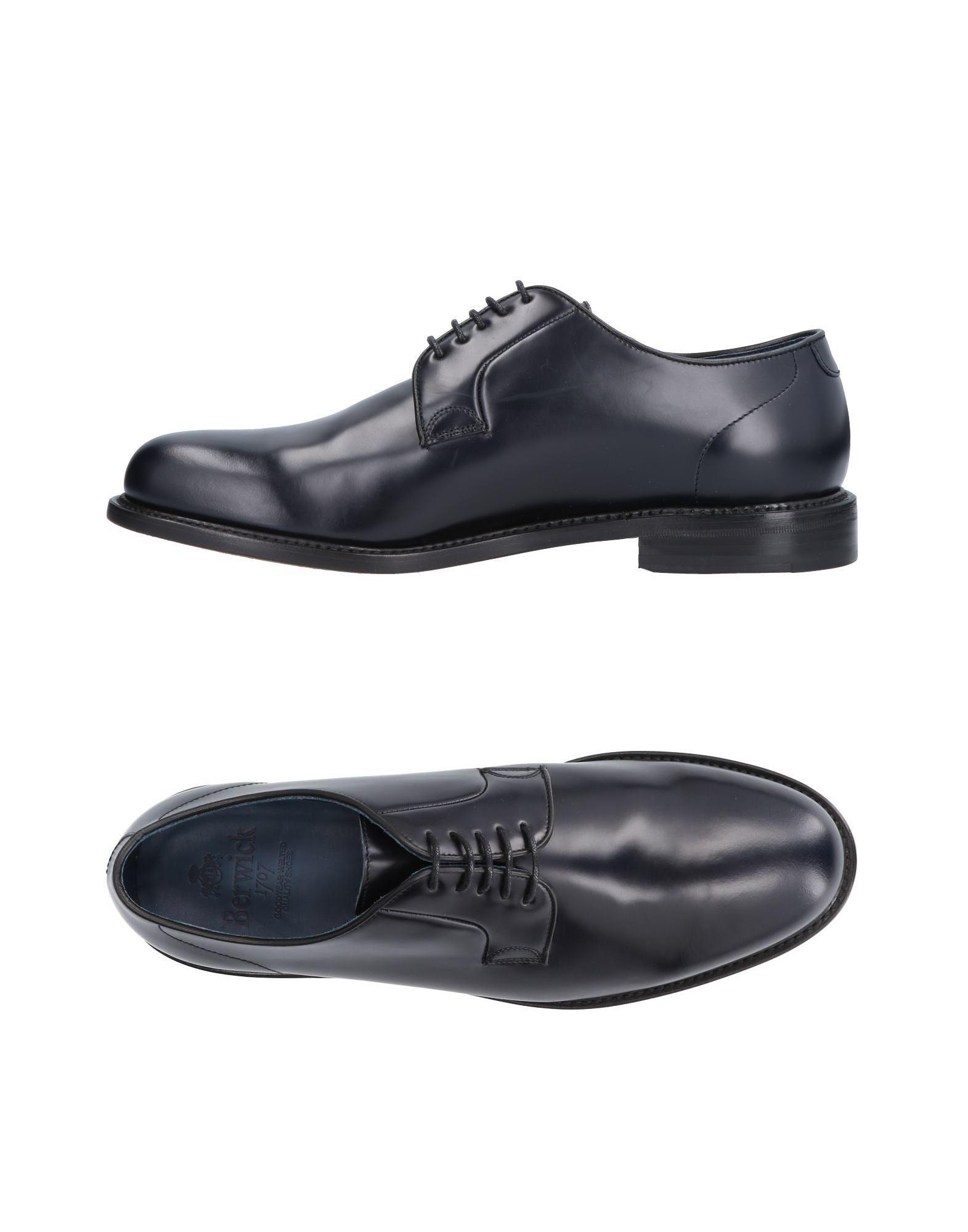Rabatt echte Schuhe Berwick  1707 Schnürschuhe Herren  11486041JR