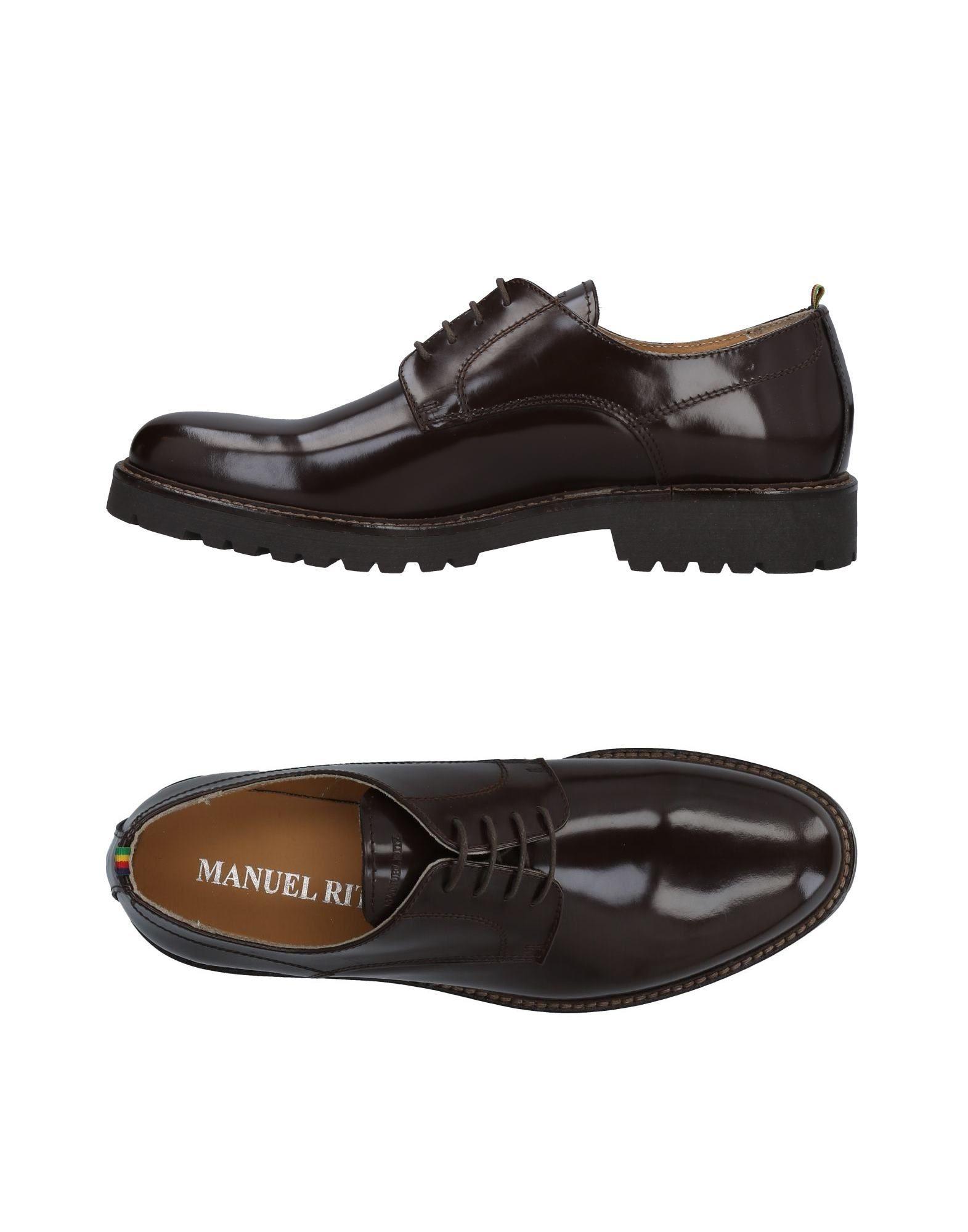 Rabatt echte Schuhe Manuel Ritz Schnürschuhe Herren  11486488IA