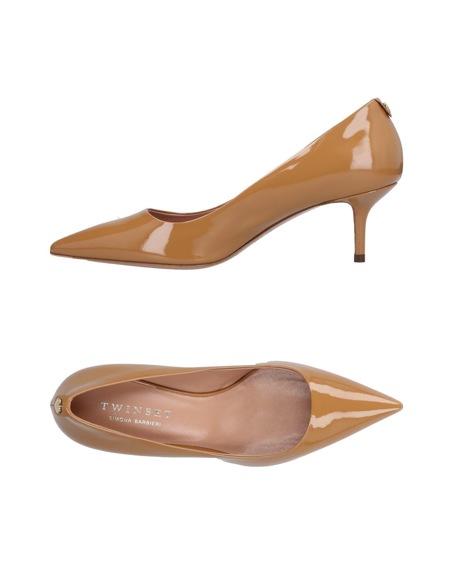 Tiempo limitado especial Zapato De Salón Twin-Set Simona Simona Twin-Set Barbieri Mujer - Salones Twin-Set Simona Barbieri  Camel 6d40e9
