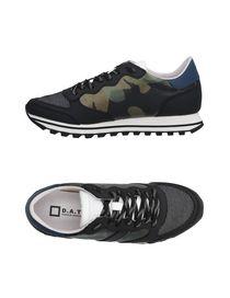 Sneakers Camouflage Uomo D.A.T.E. Collezione Primavera