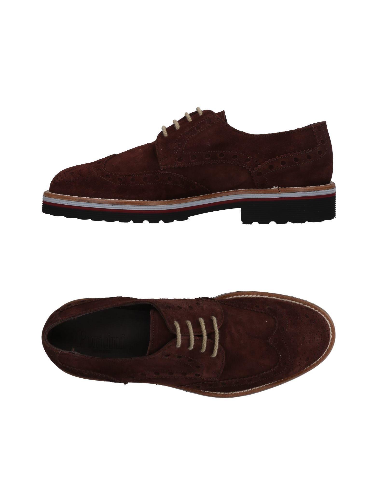 Rabatt echte Schuhe Pertini Schnürschuhe Herren  11486600IW
