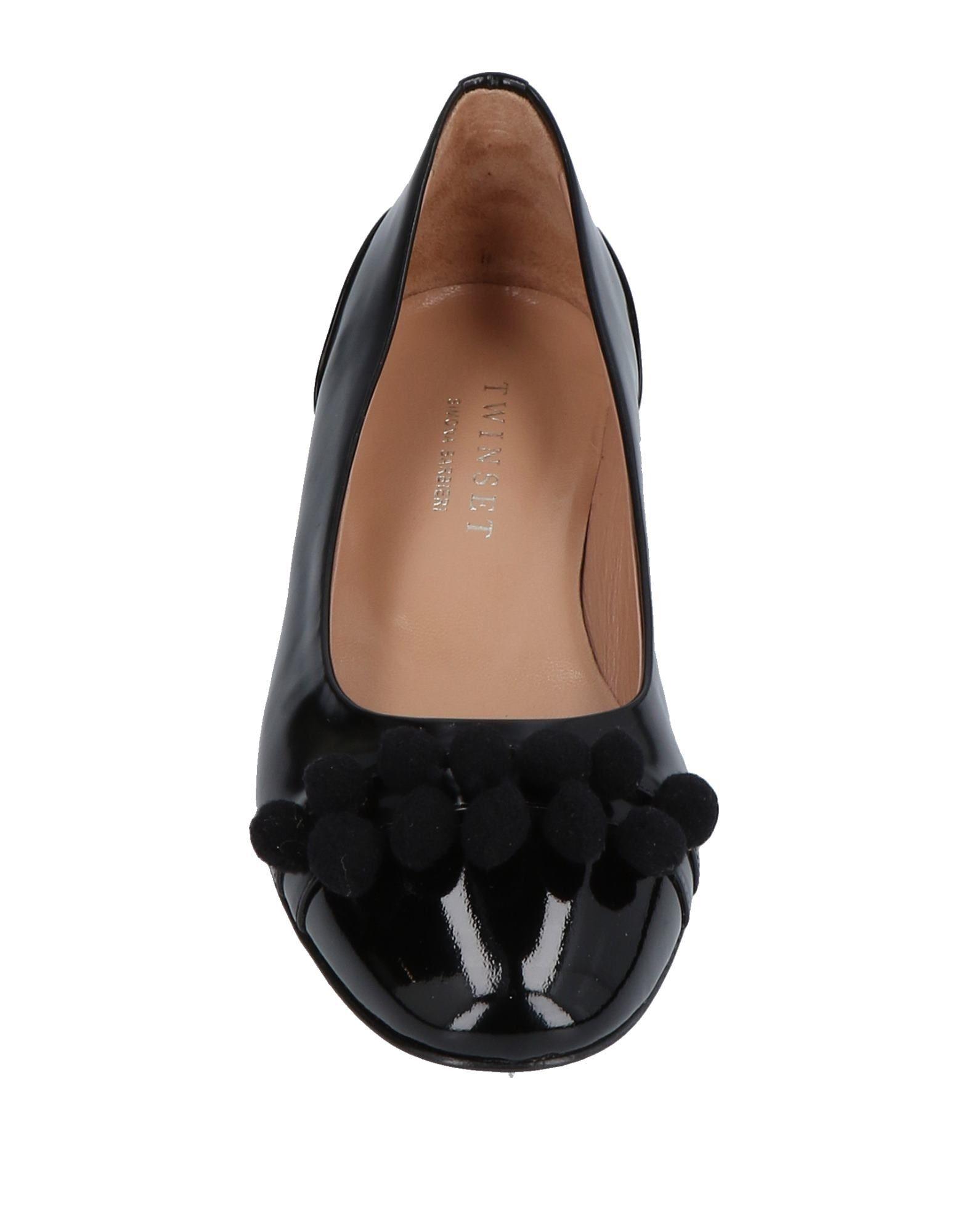 Twin-Set Simona Barbieri Ballet Flats - Ballet Women Twin-Set Simona Barbieri Ballet - Flats online on  United Kingdom - 11486623EJ 231af6
