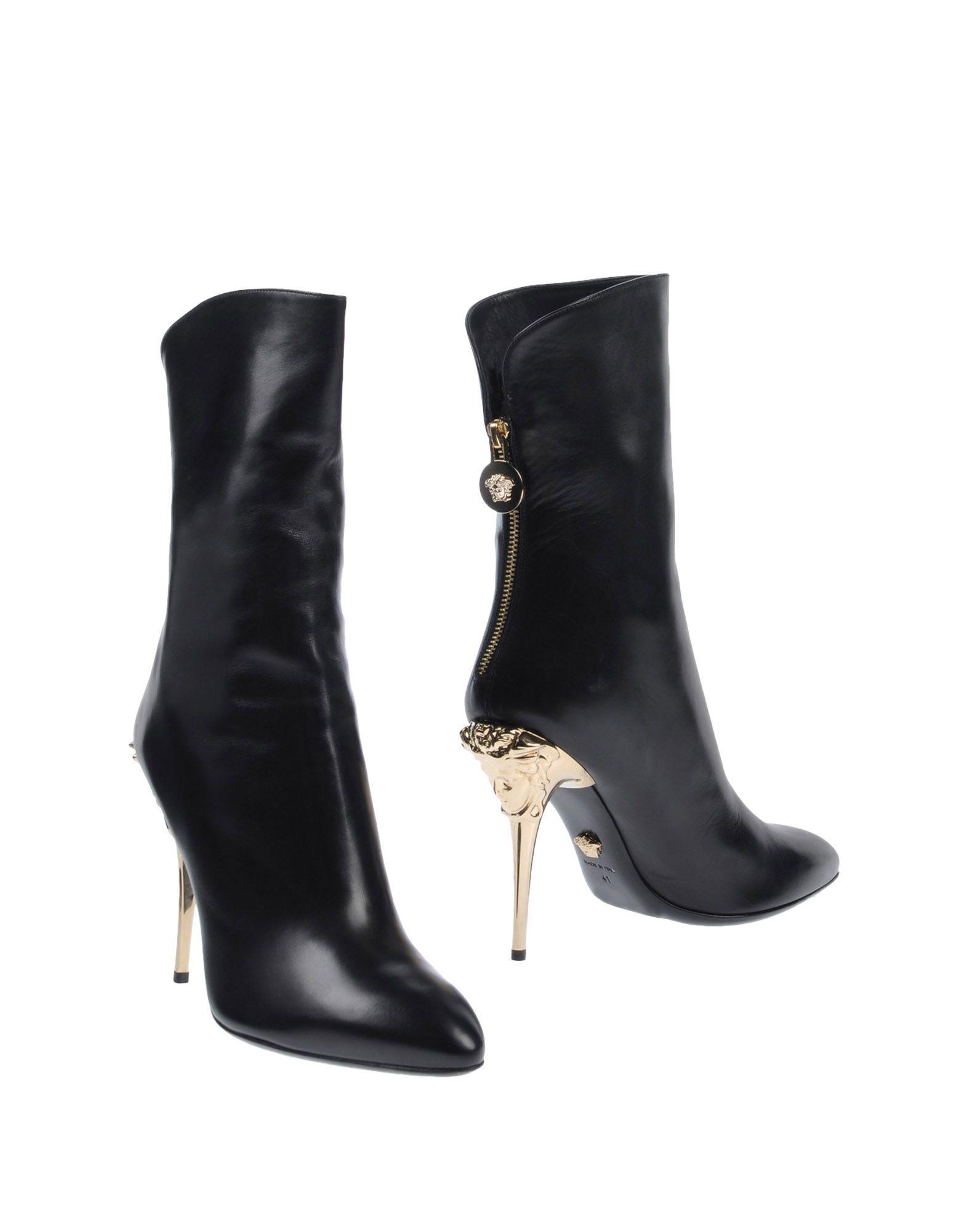 Versace Stiefelette Damen gut  11486985QSGünstige gut Damen aussehende Schuhe 55be8b