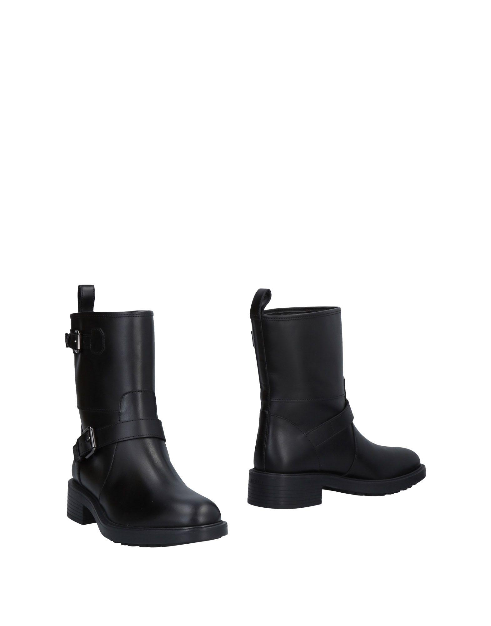 Rabatt Schuhe Hogan Stiefelette Damen  11486992BN