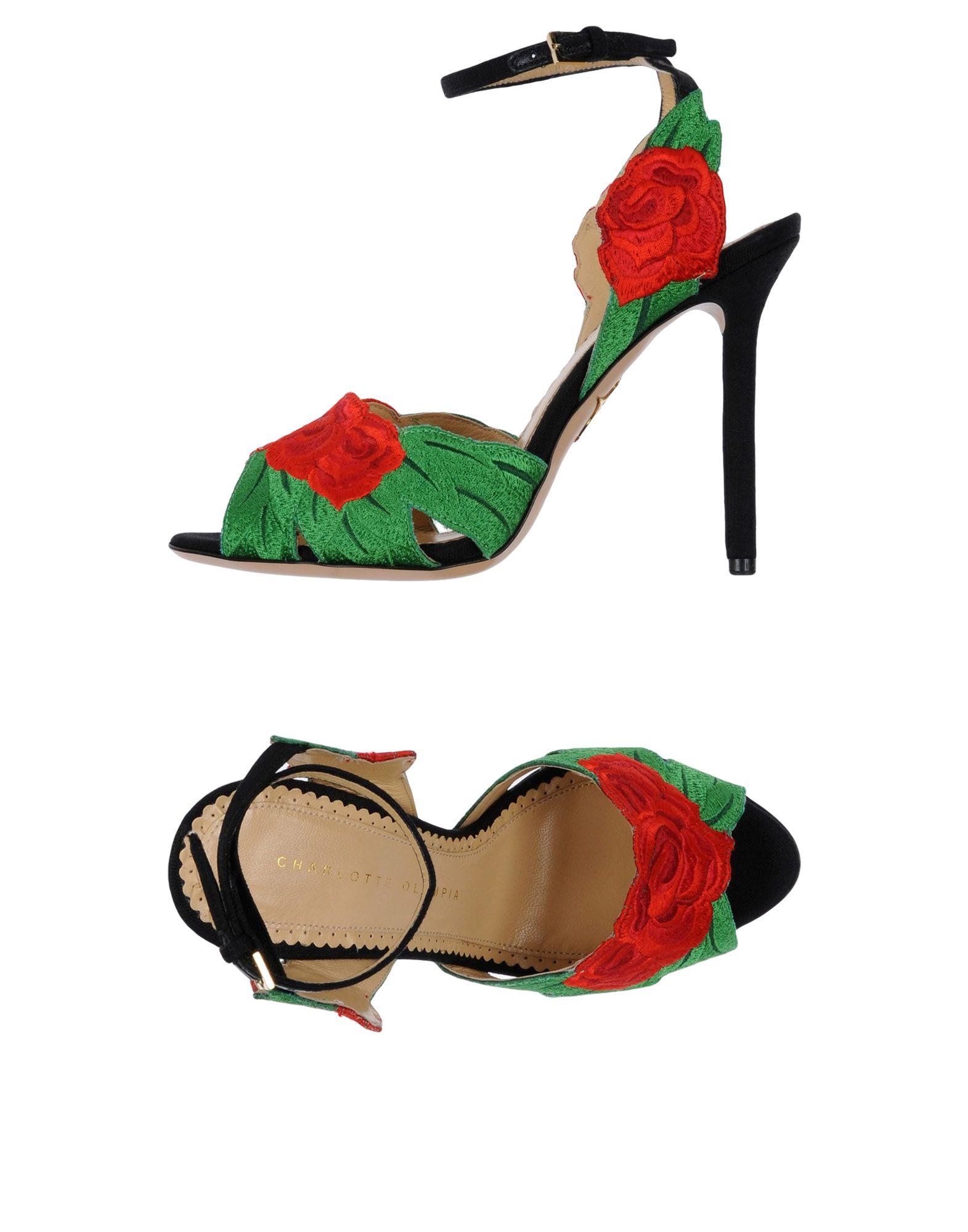 Charlotte Olympia Sandalen Damen  11487114QN Beliebte Schuhe