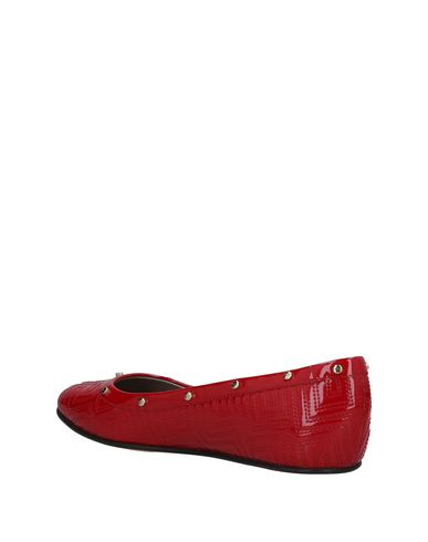 Couture Rouge Ballerines Versace Gianni Gianni Versace qxaP4tw