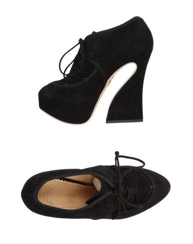 Noir À Chaussures Olympia Charlotte Lacets wpxqHBCS