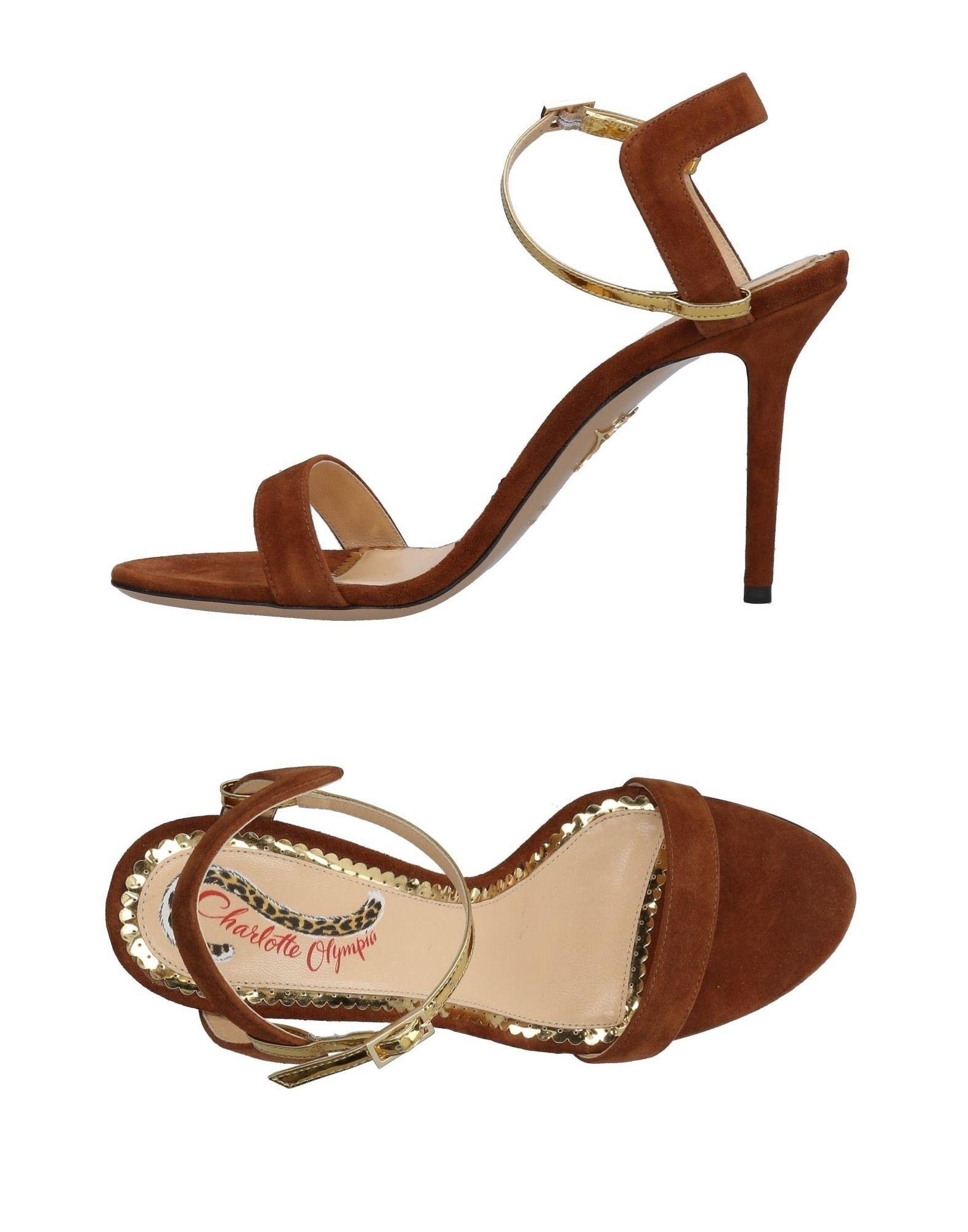 Rabatt Schuhe Charlotte Olympia Sandalen Damen  11487245RJ