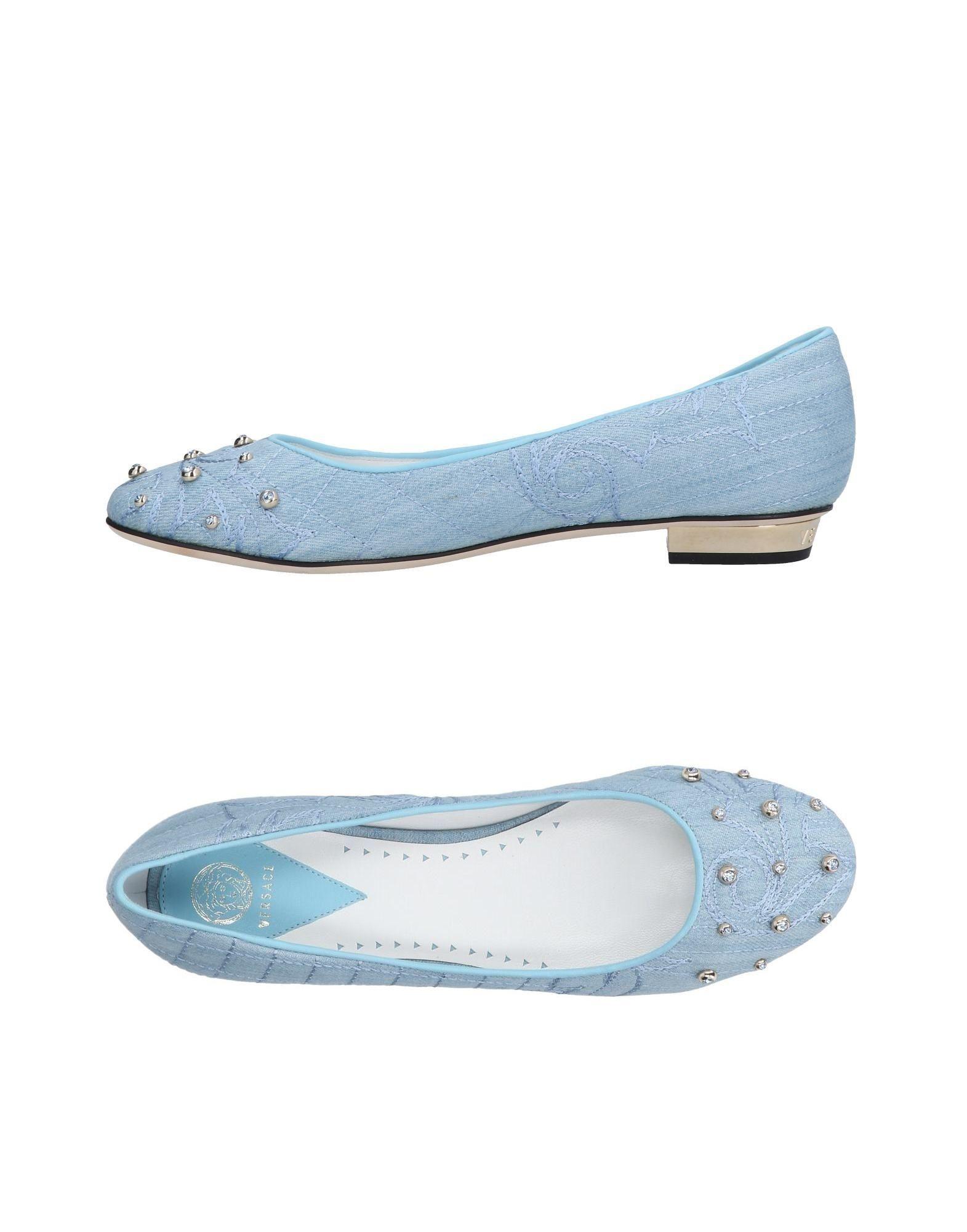Rabatt Schuhe Versace Ballerinas Damen  11487246DQ