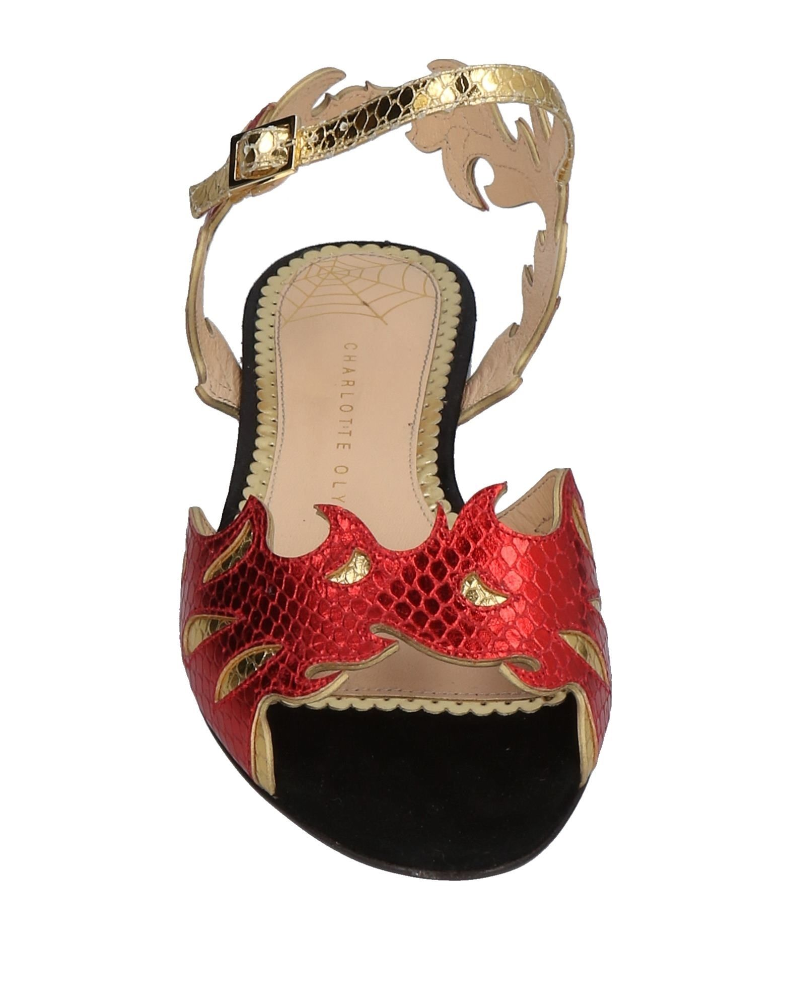 Stilvolle billige Schuhe Charlotte Olympia Sandalen Damen  11487249IF