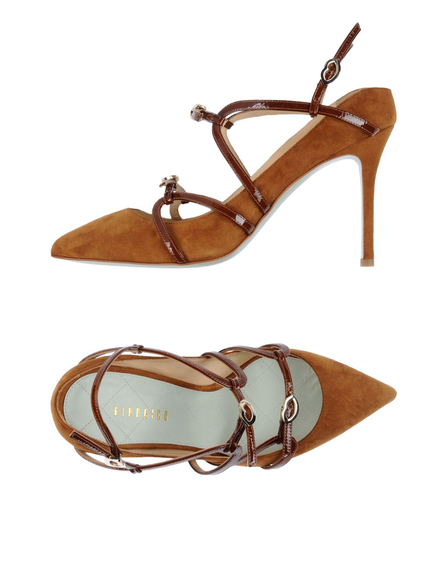 Stilvolle billige Schuhe Giannico Pumps Damen  11487297DW
