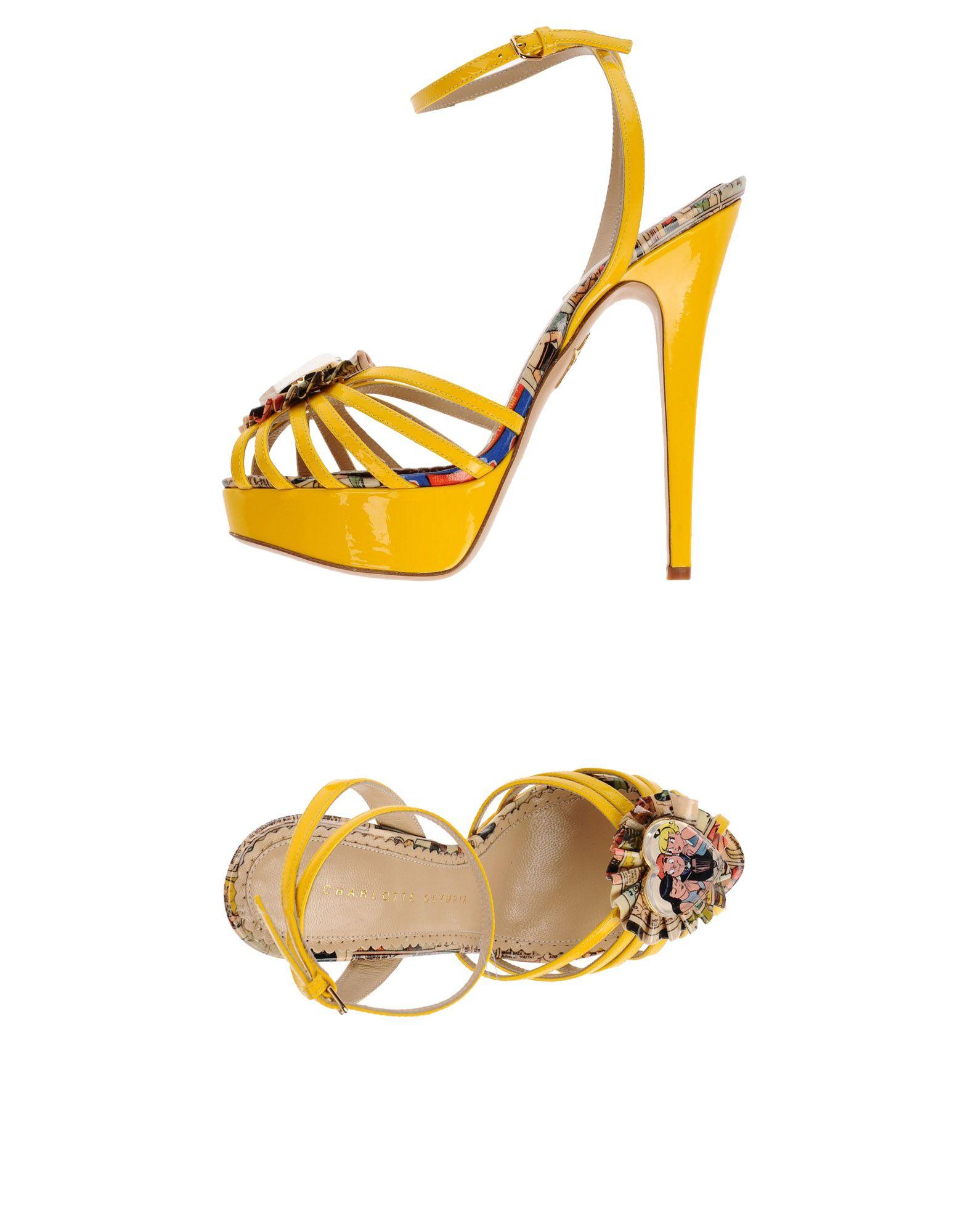 Charlotte Olympia Sandalen Damen  Schuhe 11487313NBGünstige gut aussehende Schuhe  3a6833
