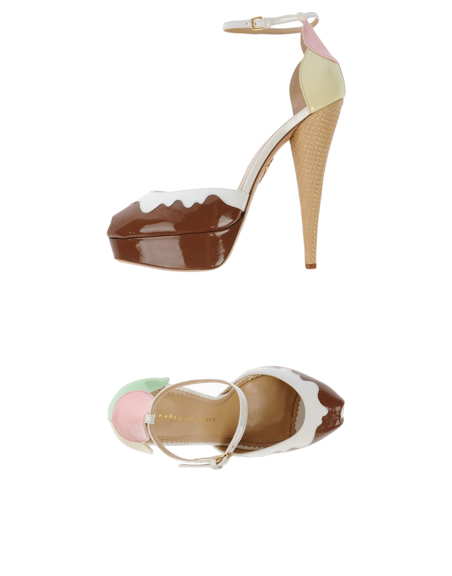 Rabatt Schuhe Charlotte Olympia Sandalen Damen  11487323BK