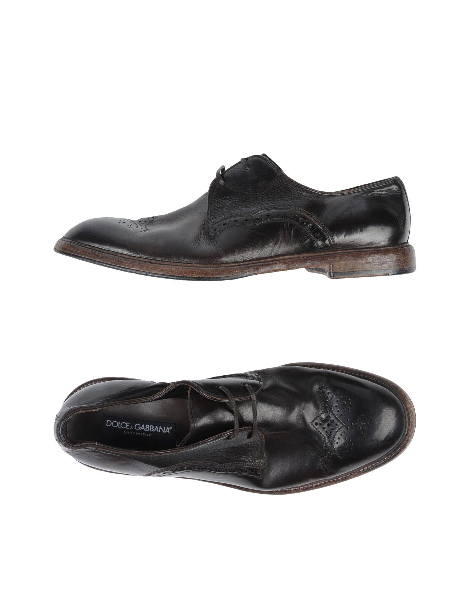 Dolce & Gabbana Schnürschuhe Herren  11487361FX Neue Schuhe