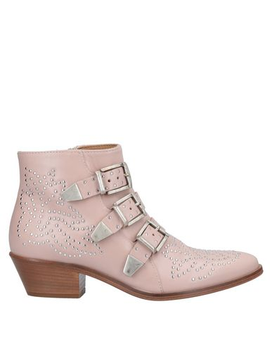 LEMARÉ Ankle Boot in Pink