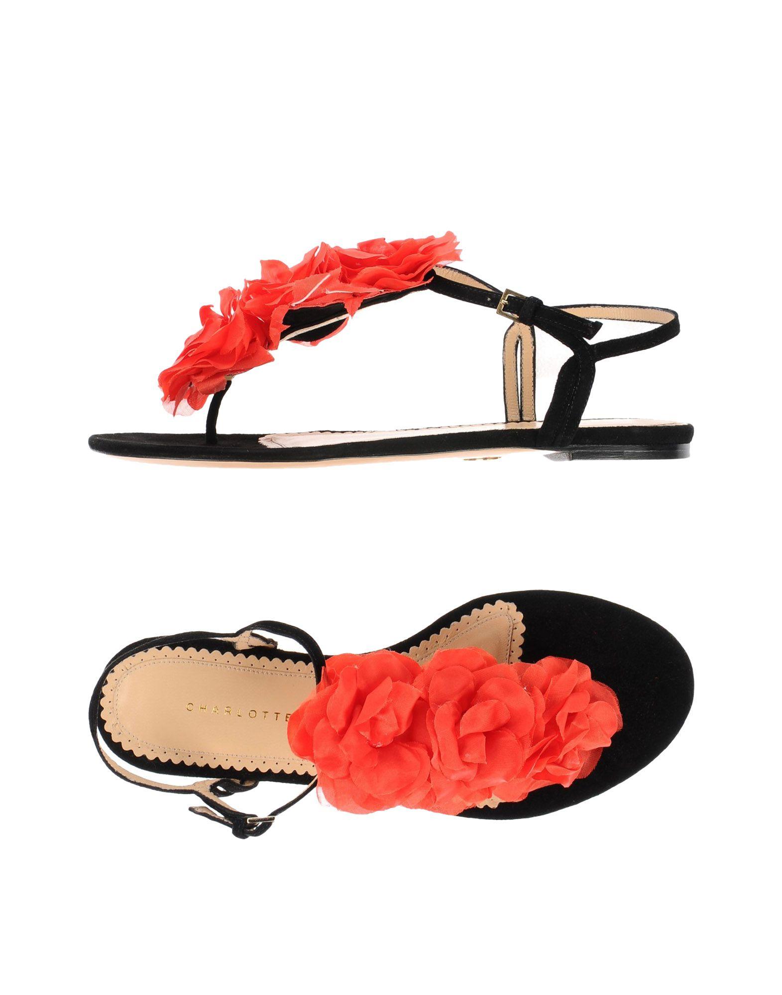 Stilvolle Olympia billige Schuhe Charlotte Olympia Stilvolle Dianetten Damen  11487422SL 52f0e5