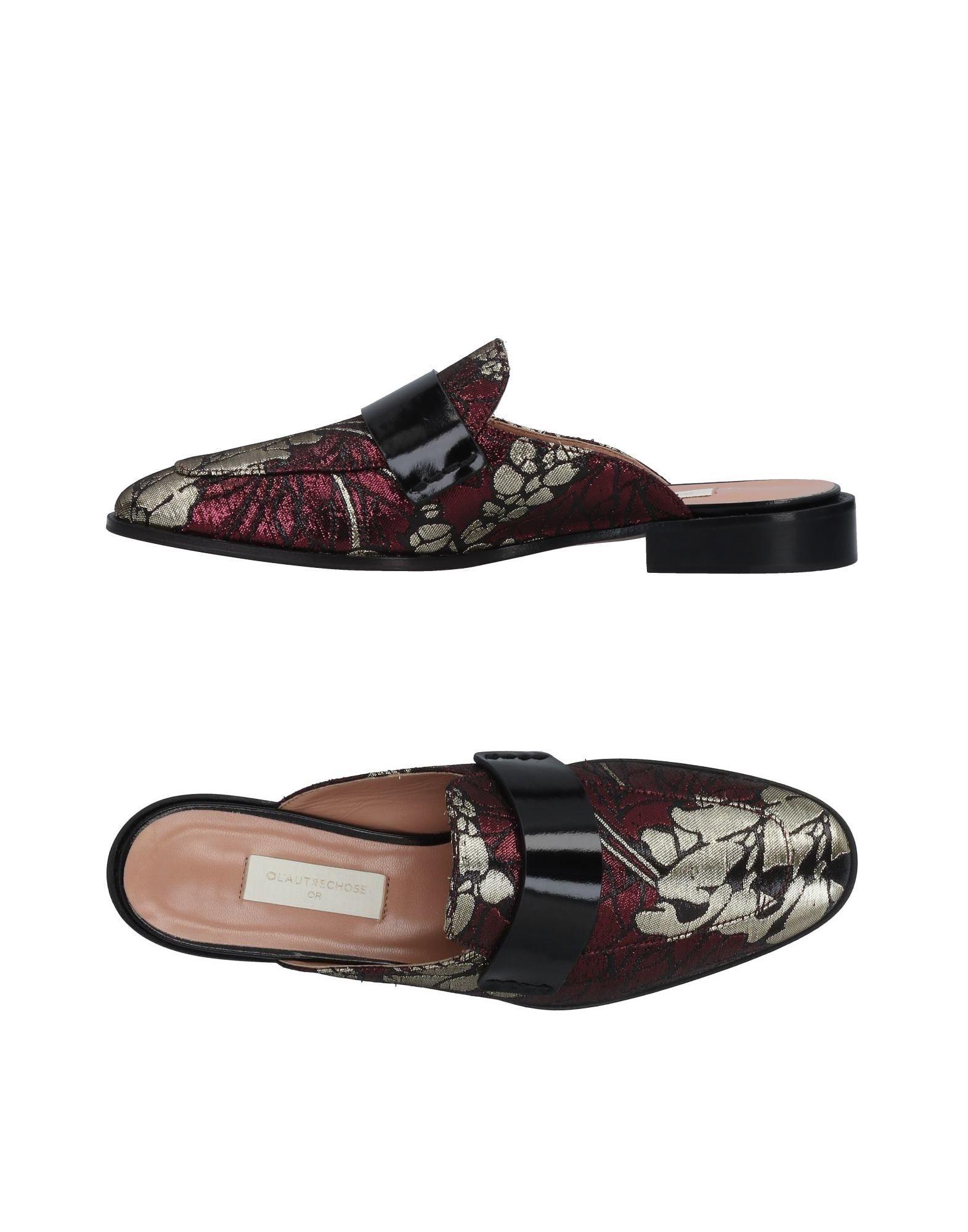 Stilvolle billige Schuhe L' Autre 11487455UO Chose Pantoletten Damen  11487455UO Autre 9b7829