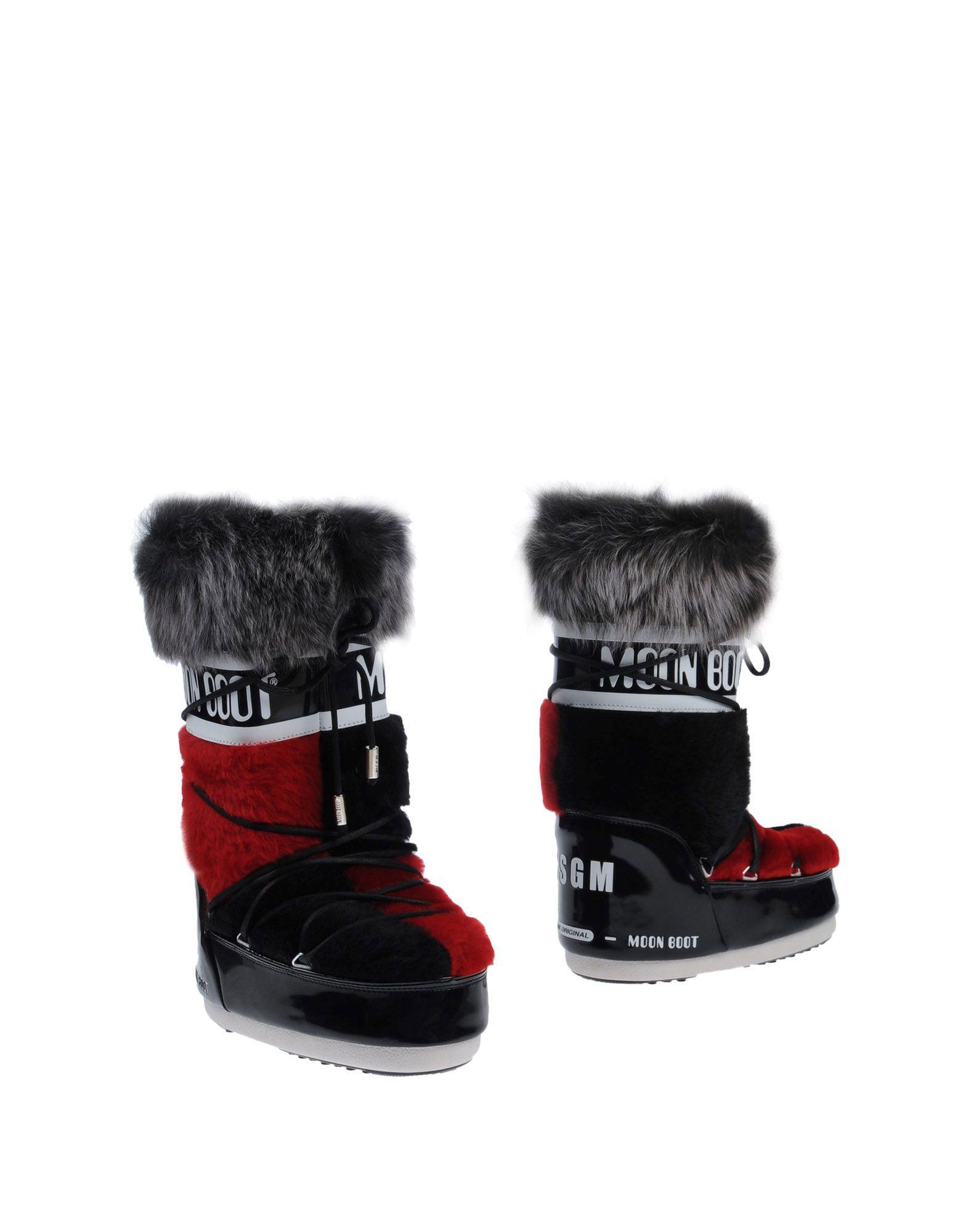 Moon Boot The Original Msgm Stiefel Damen  11487591ASGut aussehende strapazierfähige Schuhe