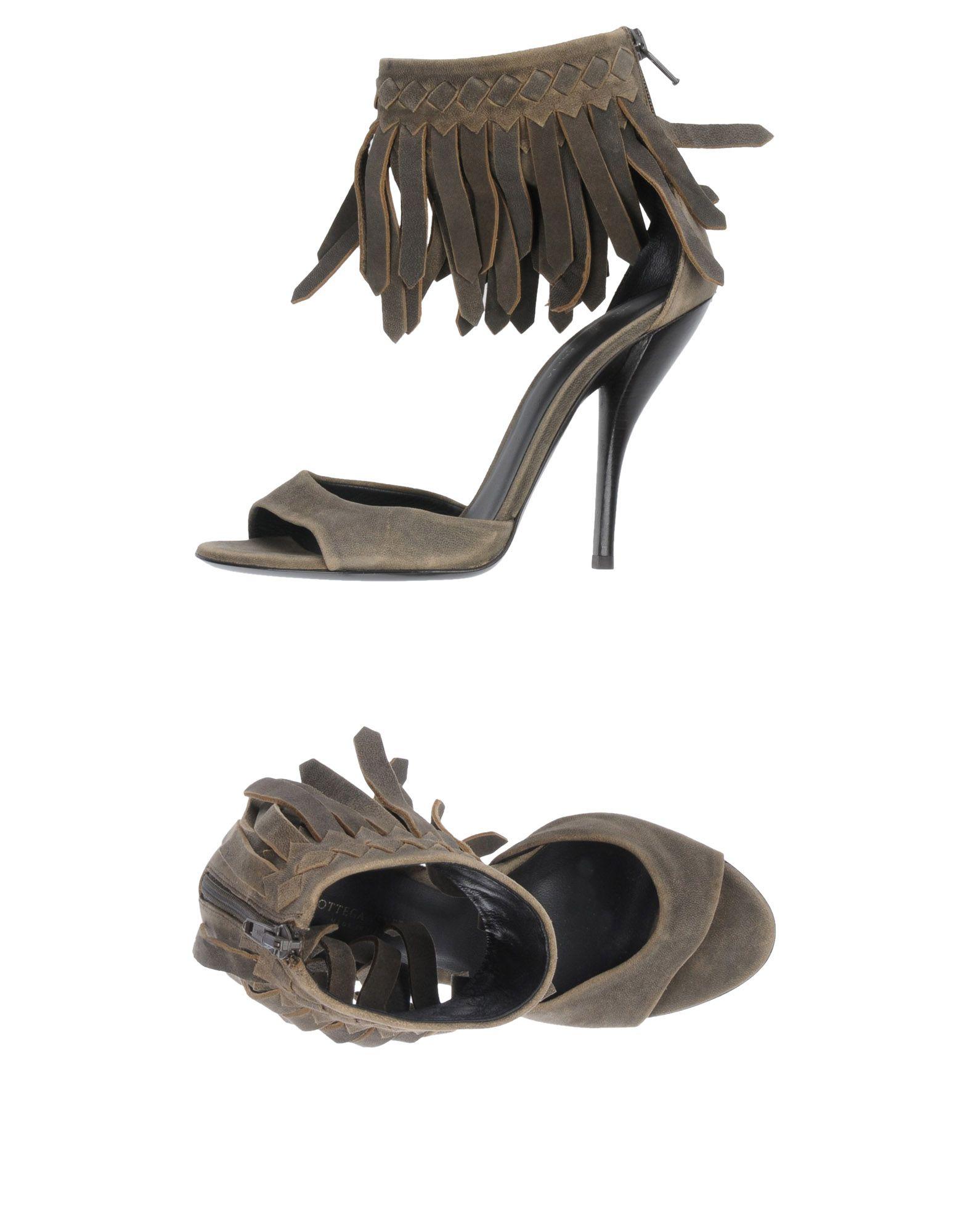 Bottega Veneta Sandalen Damen  11487640PJGut aussehende strapazierfähige Schuhe