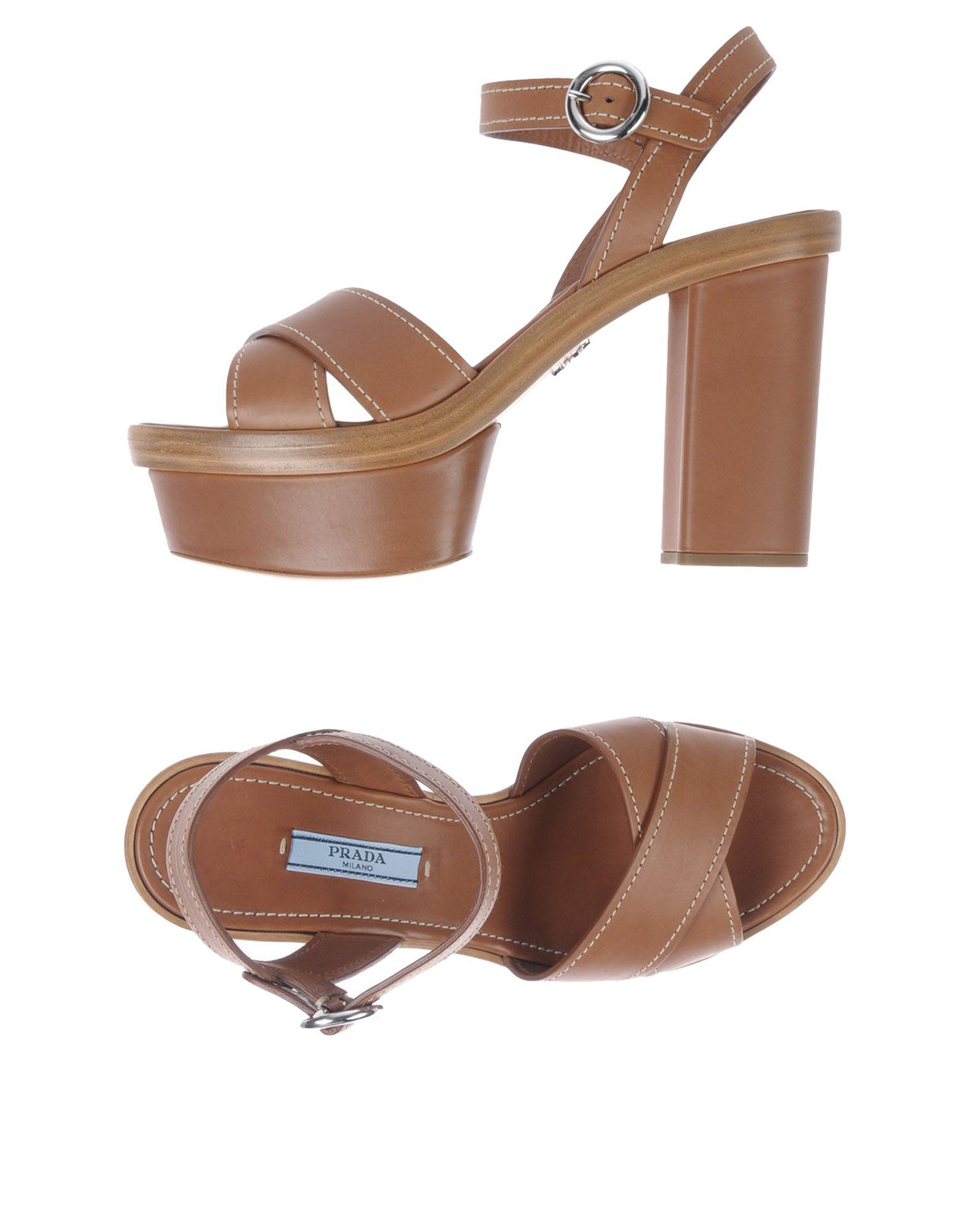 Prada Sandalen Damen  11487709CRGünstige gut aussehende Schuhe