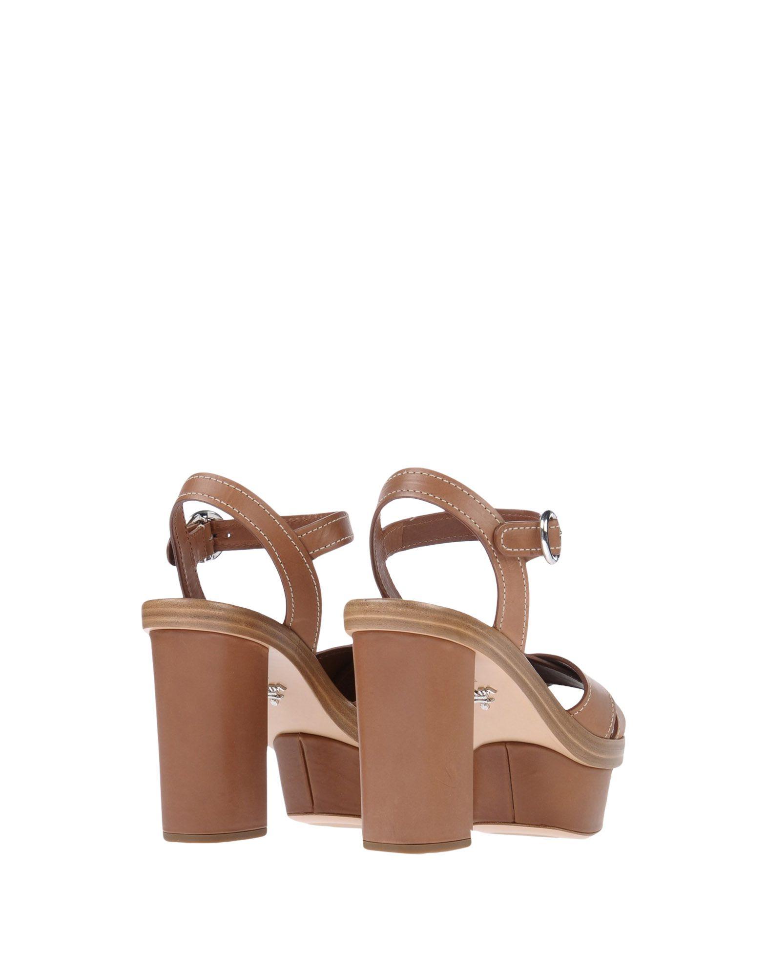 Prada gut Sandalen Damen  11487709CRGünstige gut Prada aussehende Schuhe 3905ae