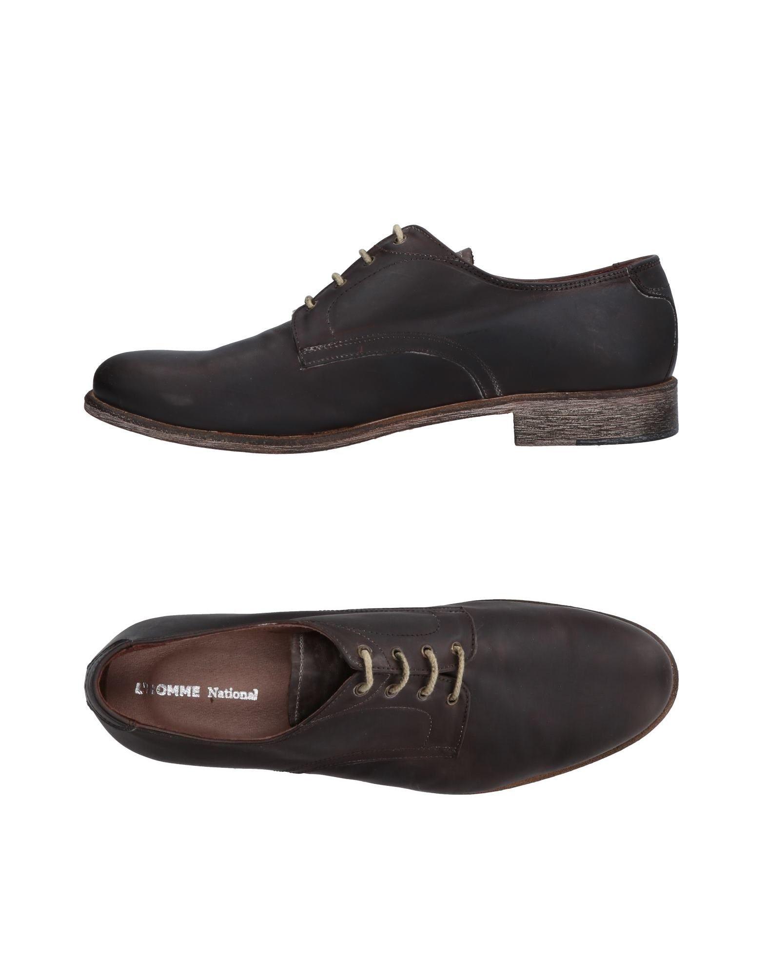 Rabatt echte Schuhe L'homme National Schnürschuhe Herren  11487805GE